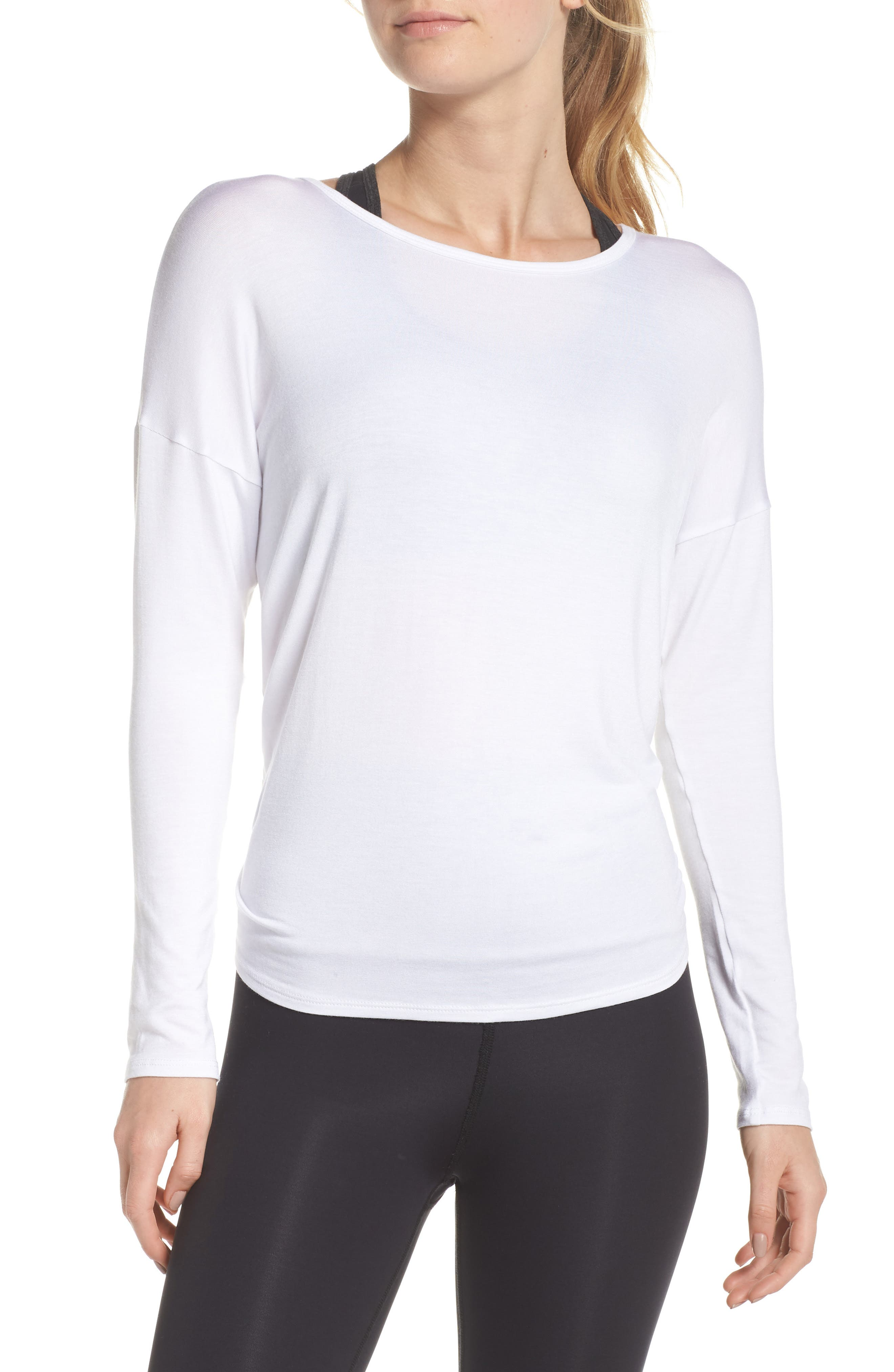 BEYOND YOGA TIE BACK PULLOVER