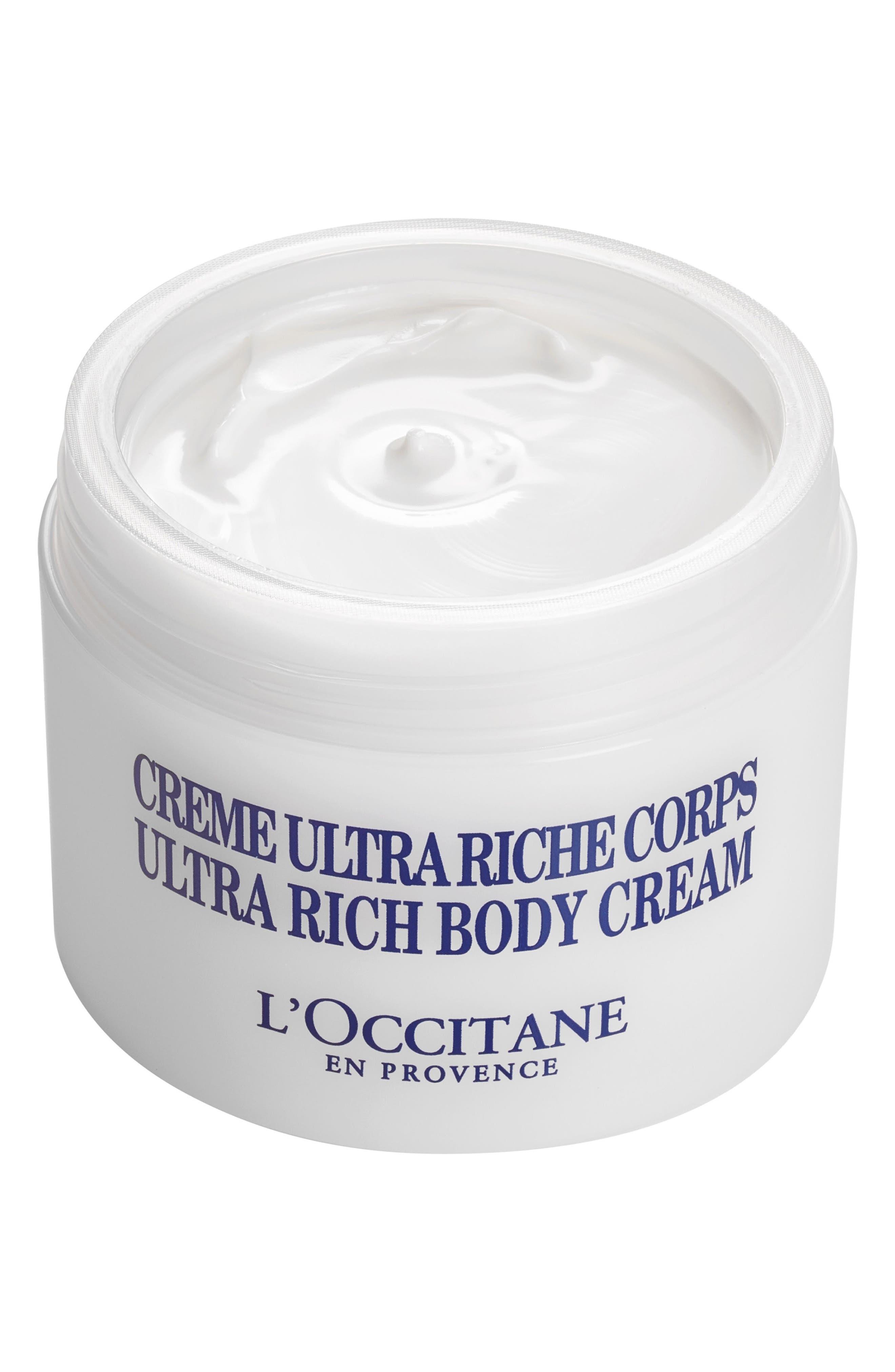 Shea Butter Ultra-Rich Body Cream,                             Alternate thumbnail 2, color,                             No Color