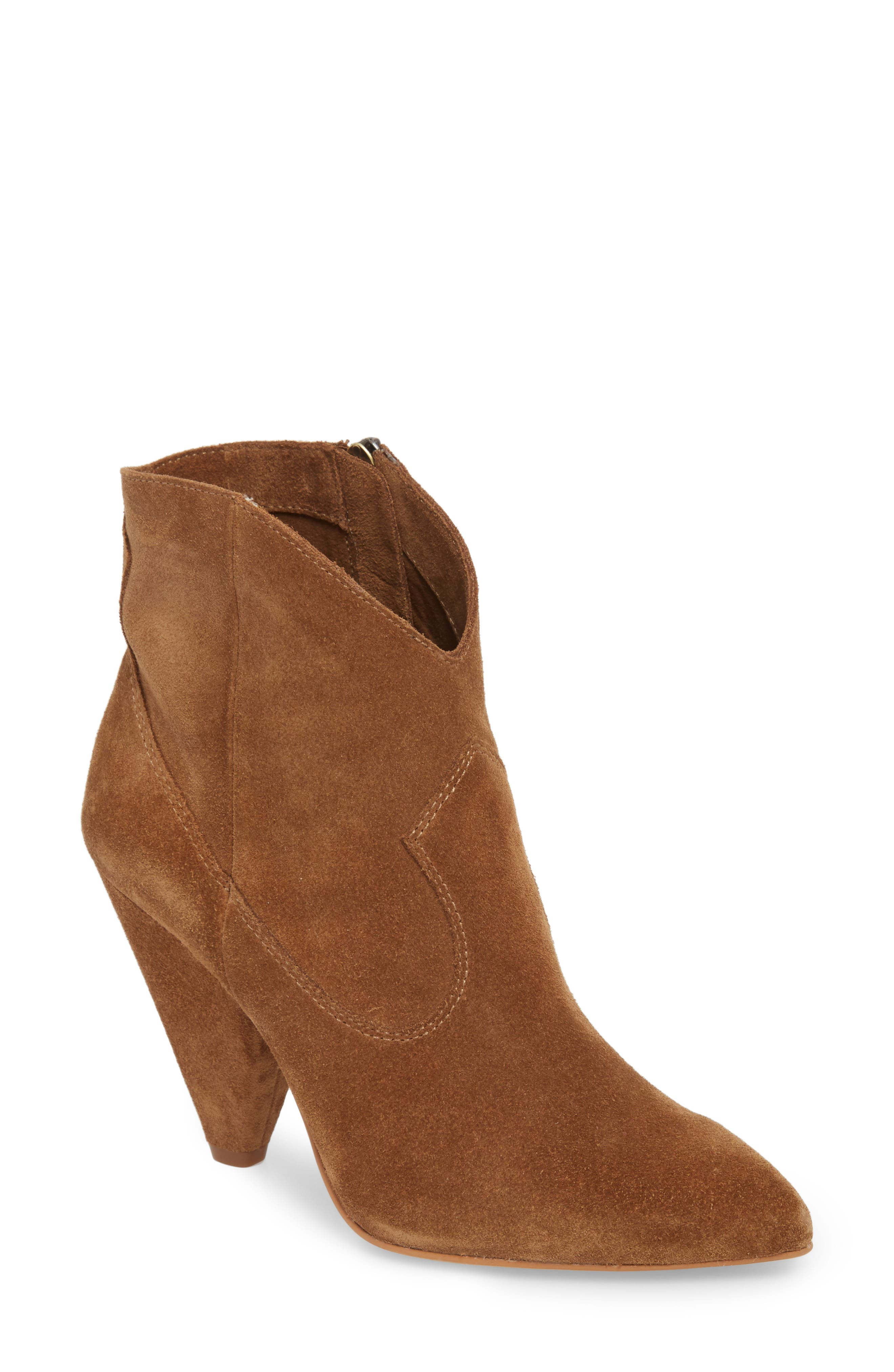 Movinta Bootie,                             Main thumbnail 1, color,                             Tree House Suede