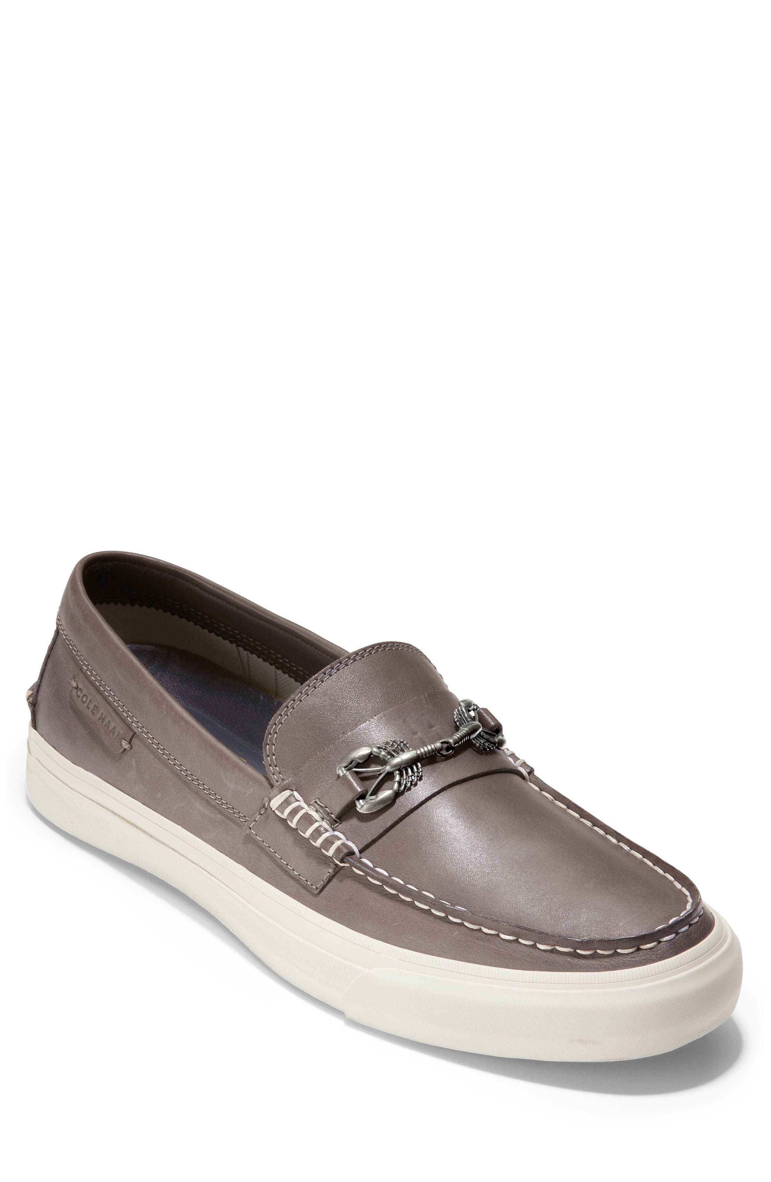 Pinch Weekend Loafer,                             Main thumbnail 1, color,                             Stormcloud Handstain