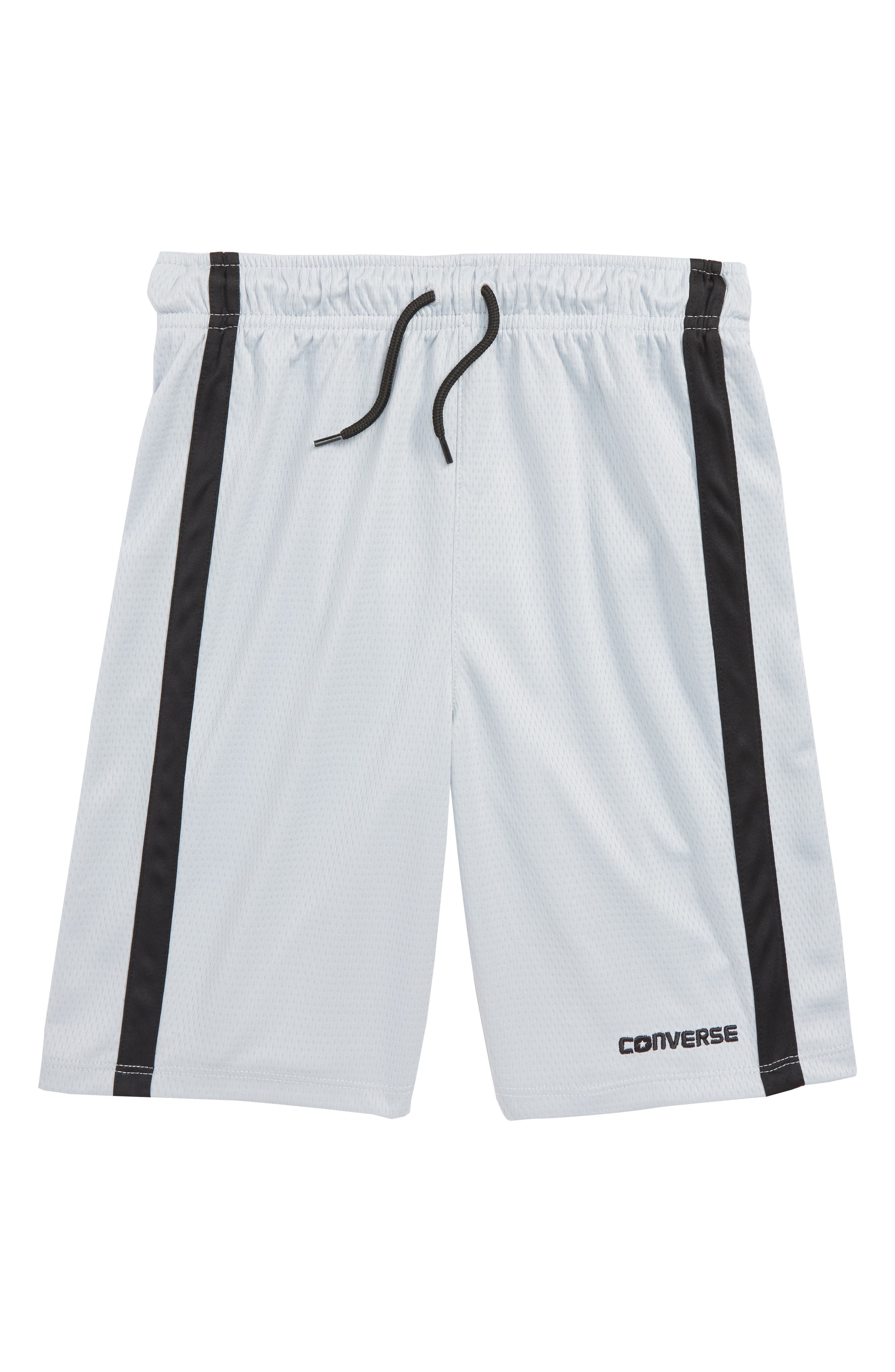 Stripe Mesh Shorts,                         Main,                         color, Wolf Grey
