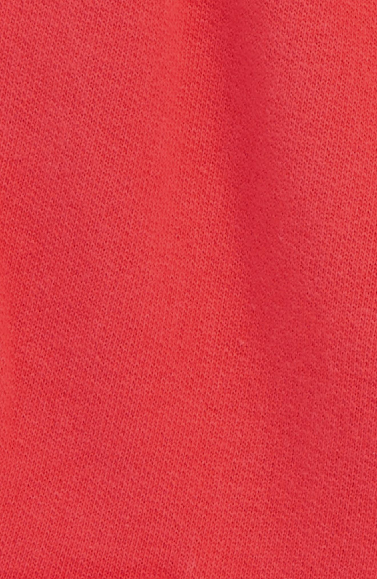Jersey Cargo Shorts,                             Alternate thumbnail 2, color,                             Jam Red