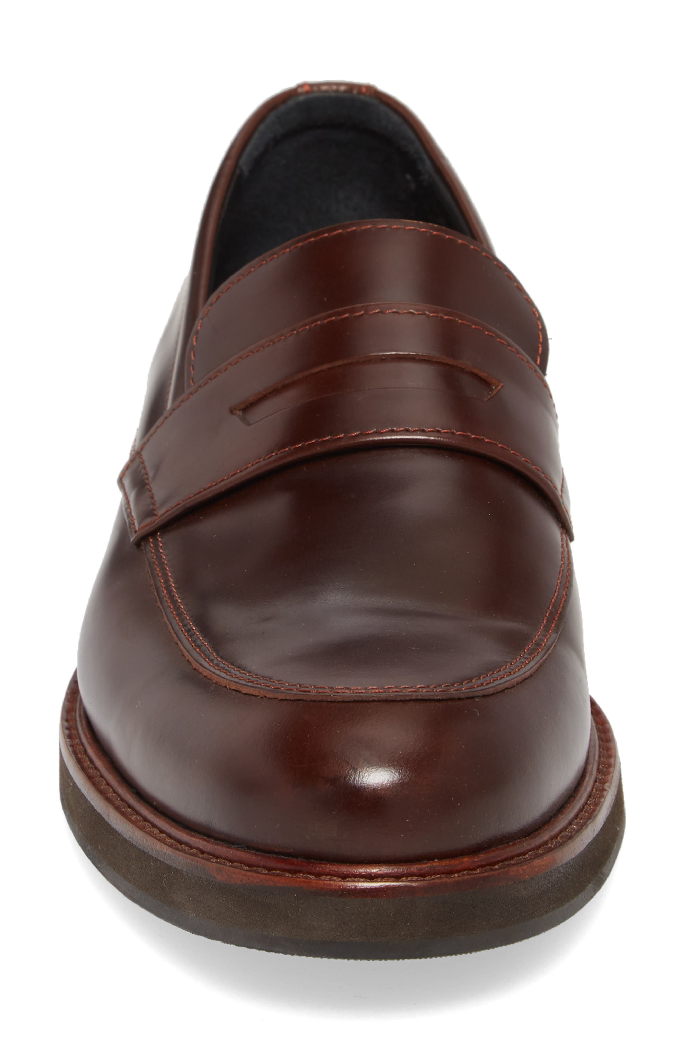 'Marcos' Loafer,                             Alternate thumbnail 4, color,                             Multi Brown/ Brown