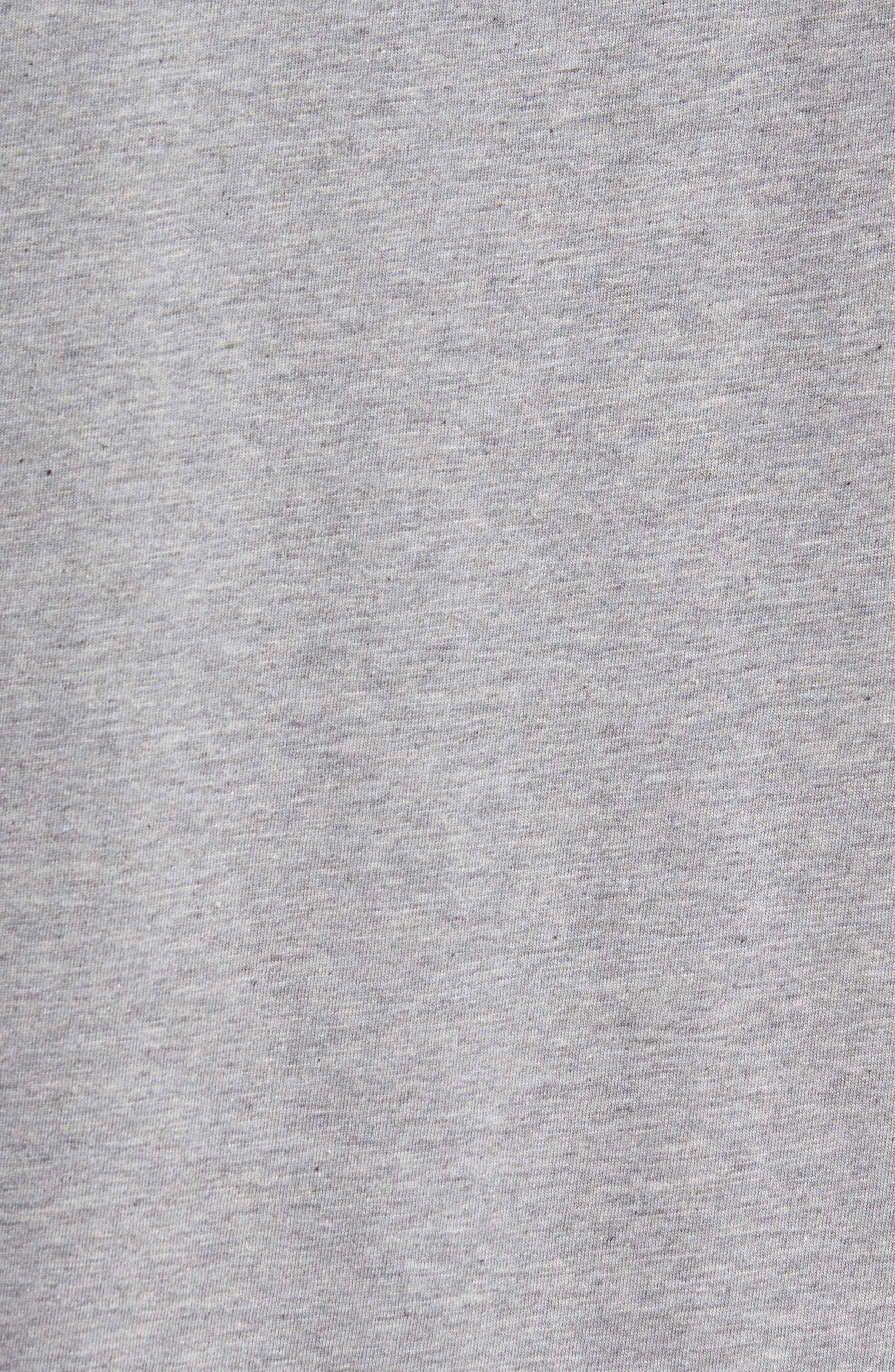 'Spaulding' Graphic T-Shirt,                             Alternate thumbnail 5, color,                             Heather Grey