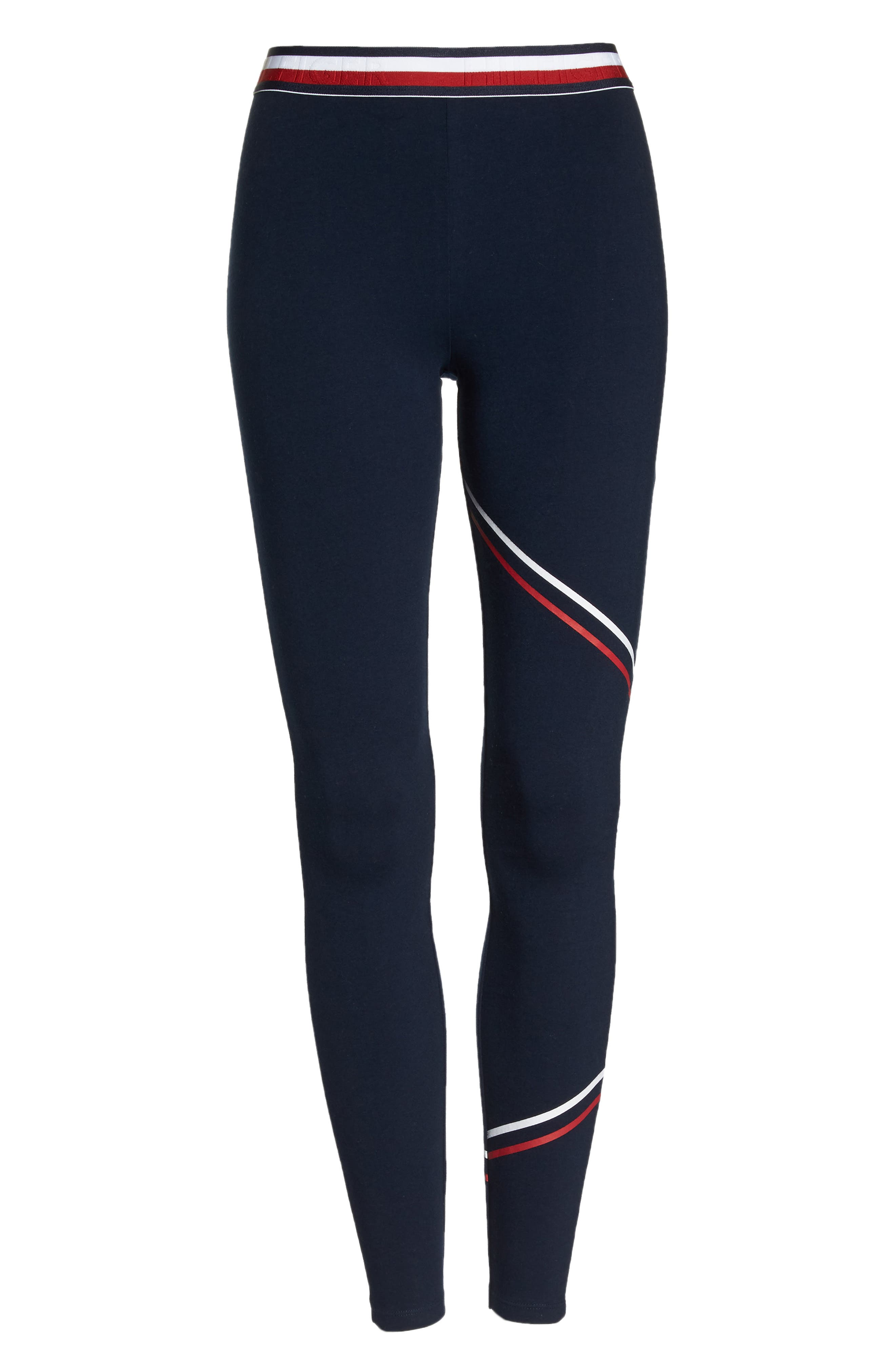 Fitted Pajama Pants,                             Alternate thumbnail 6, color,                             Navy Blazer