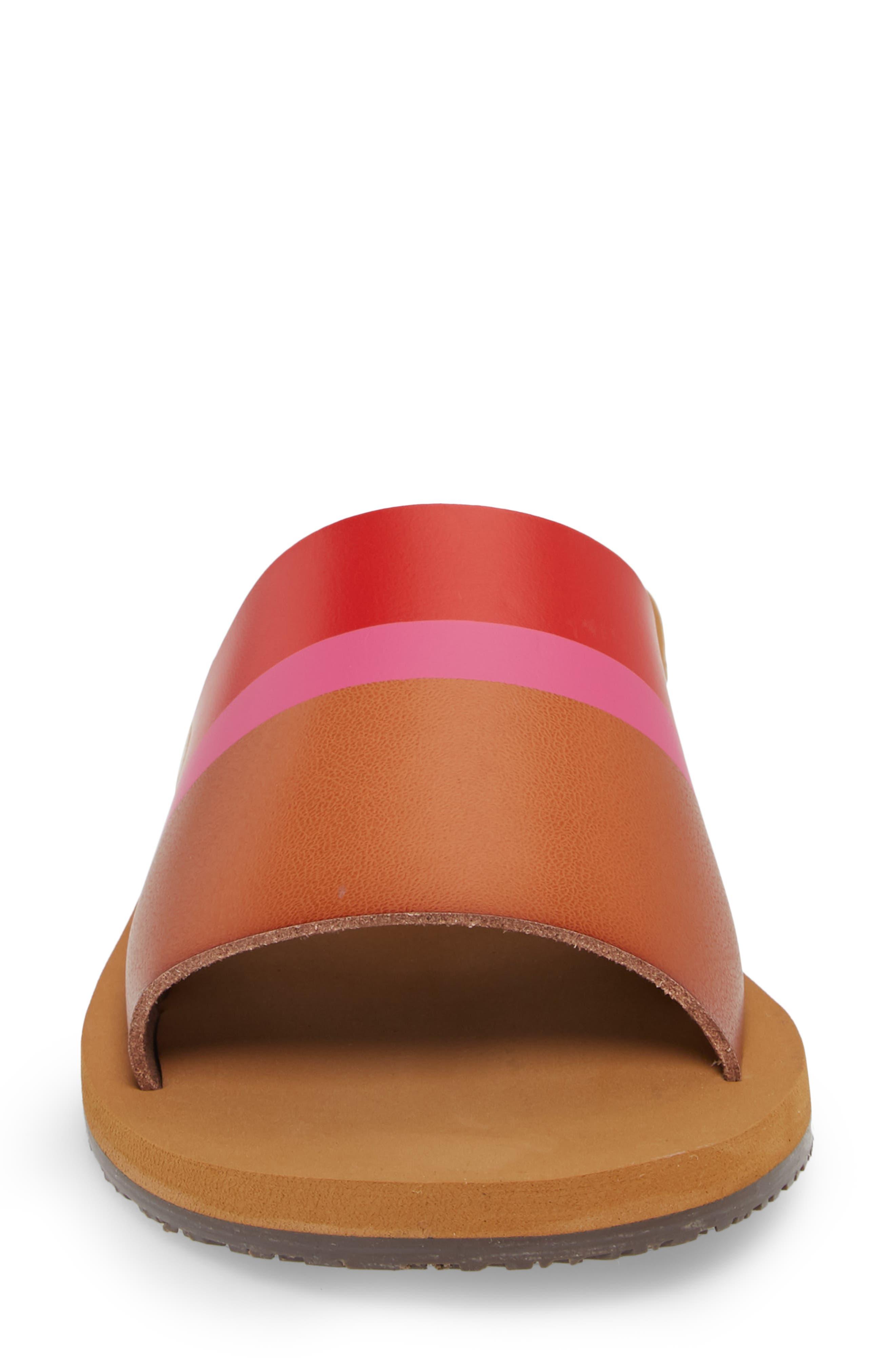 Slide Sandal,                             Alternate thumbnail 4, color,                             Multi