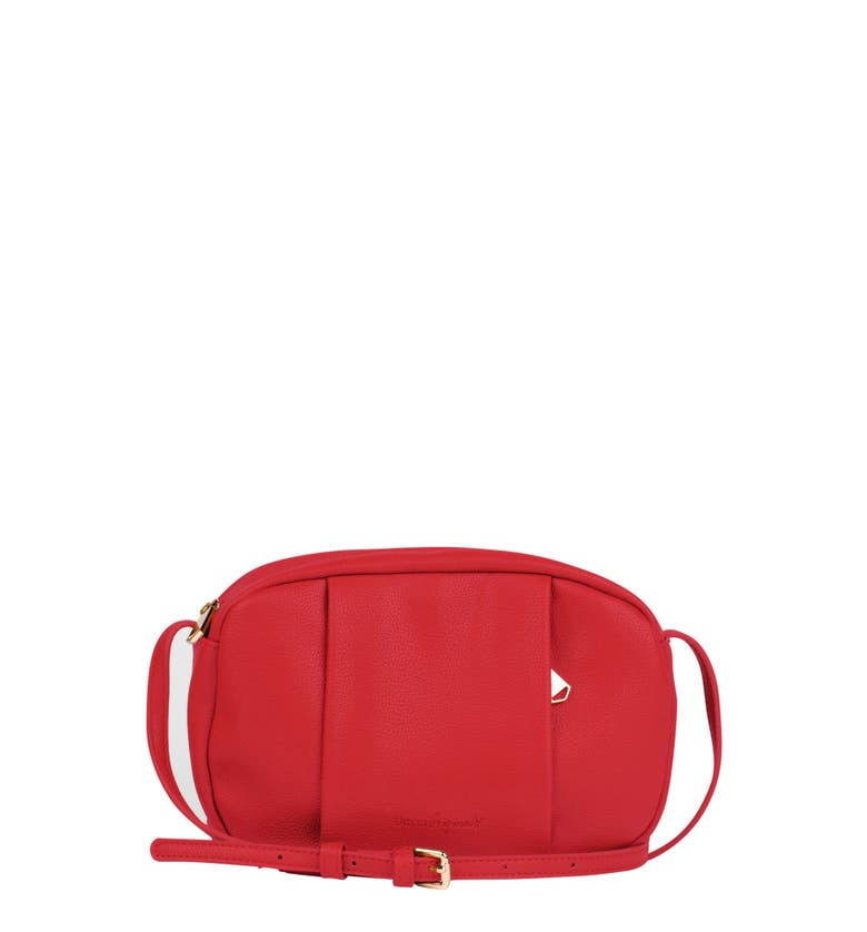 Urban Originals STORY TELLER VEGAN LEATHER CROSSBODY BAG - RED