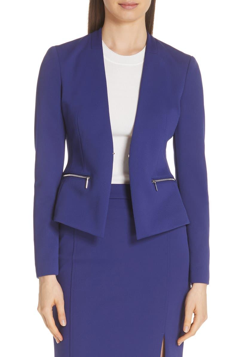 Jeboa Twill Jersey Suit Jacket