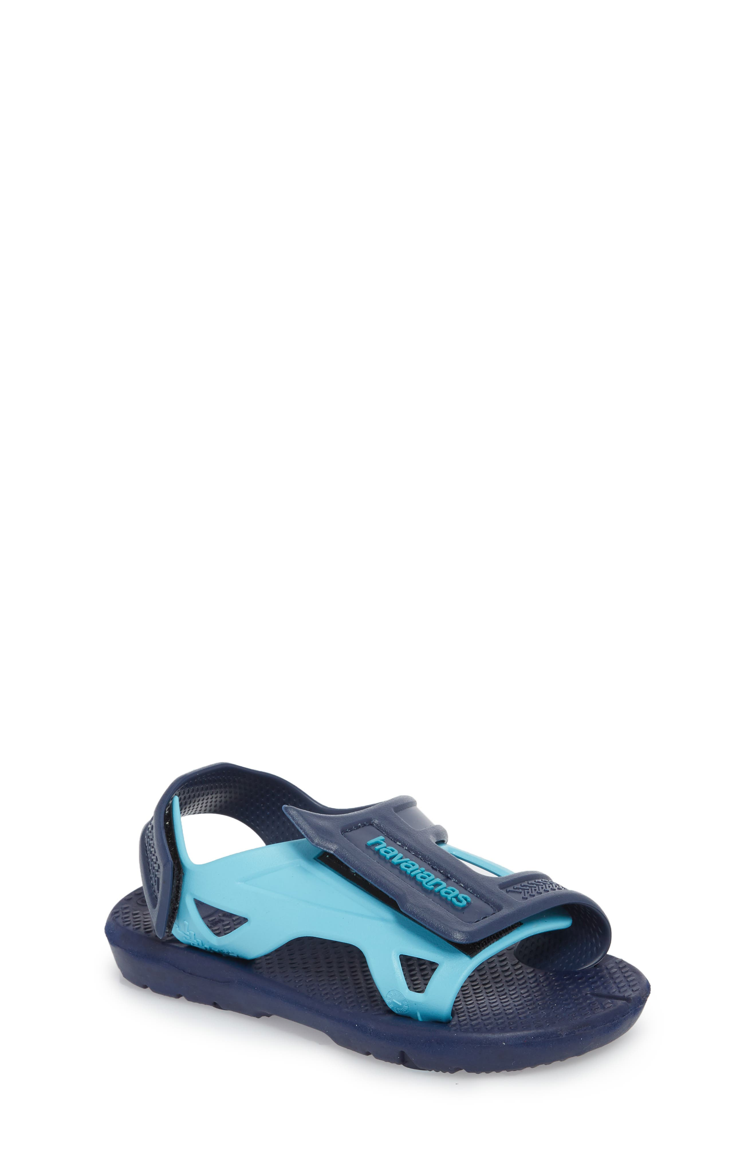 Move Sandal,                         Main,                         color, Navy Blue