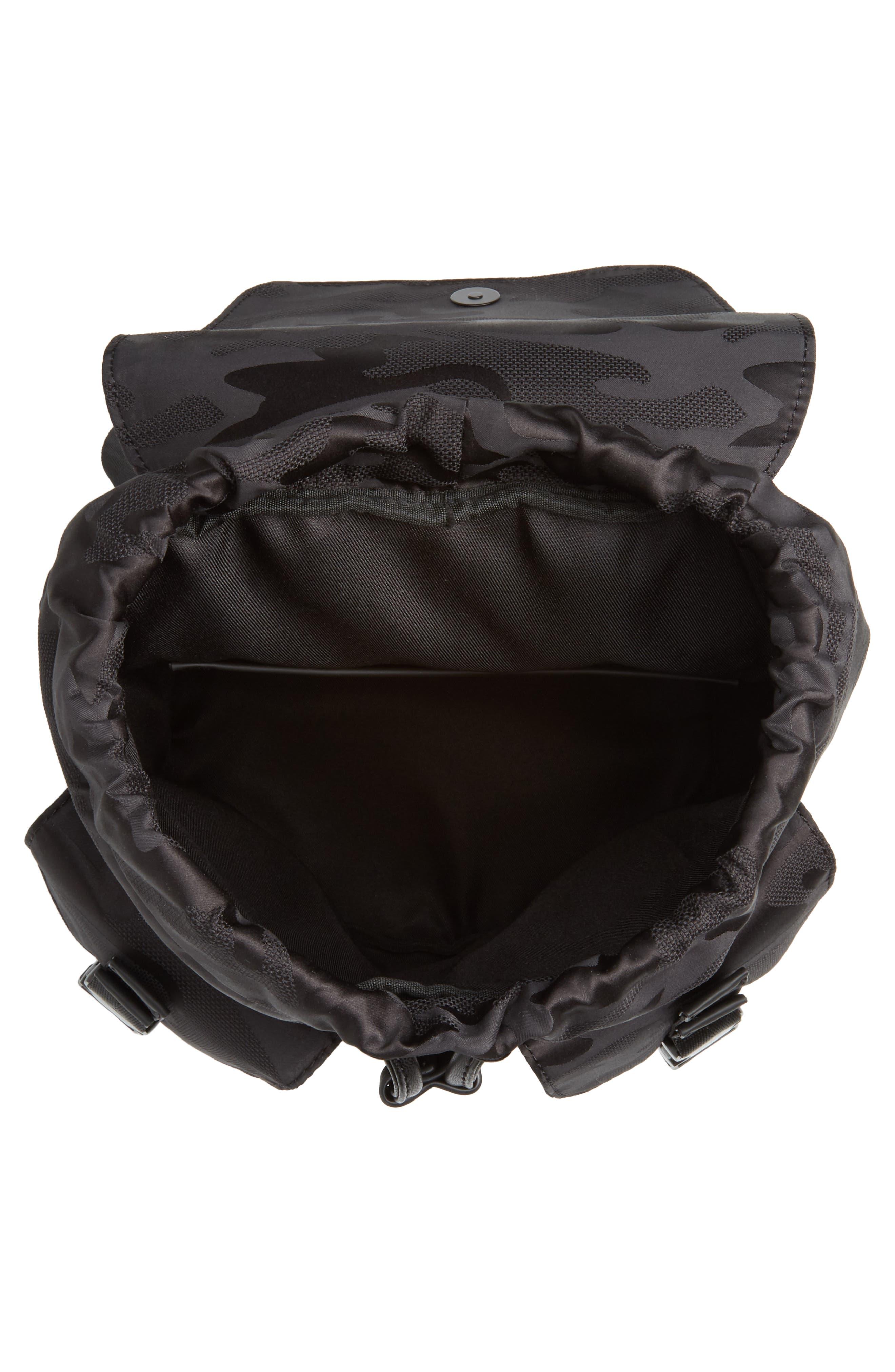 Parker Water Resistant Backpack,                             Alternate thumbnail 3, color,                             Black Camo