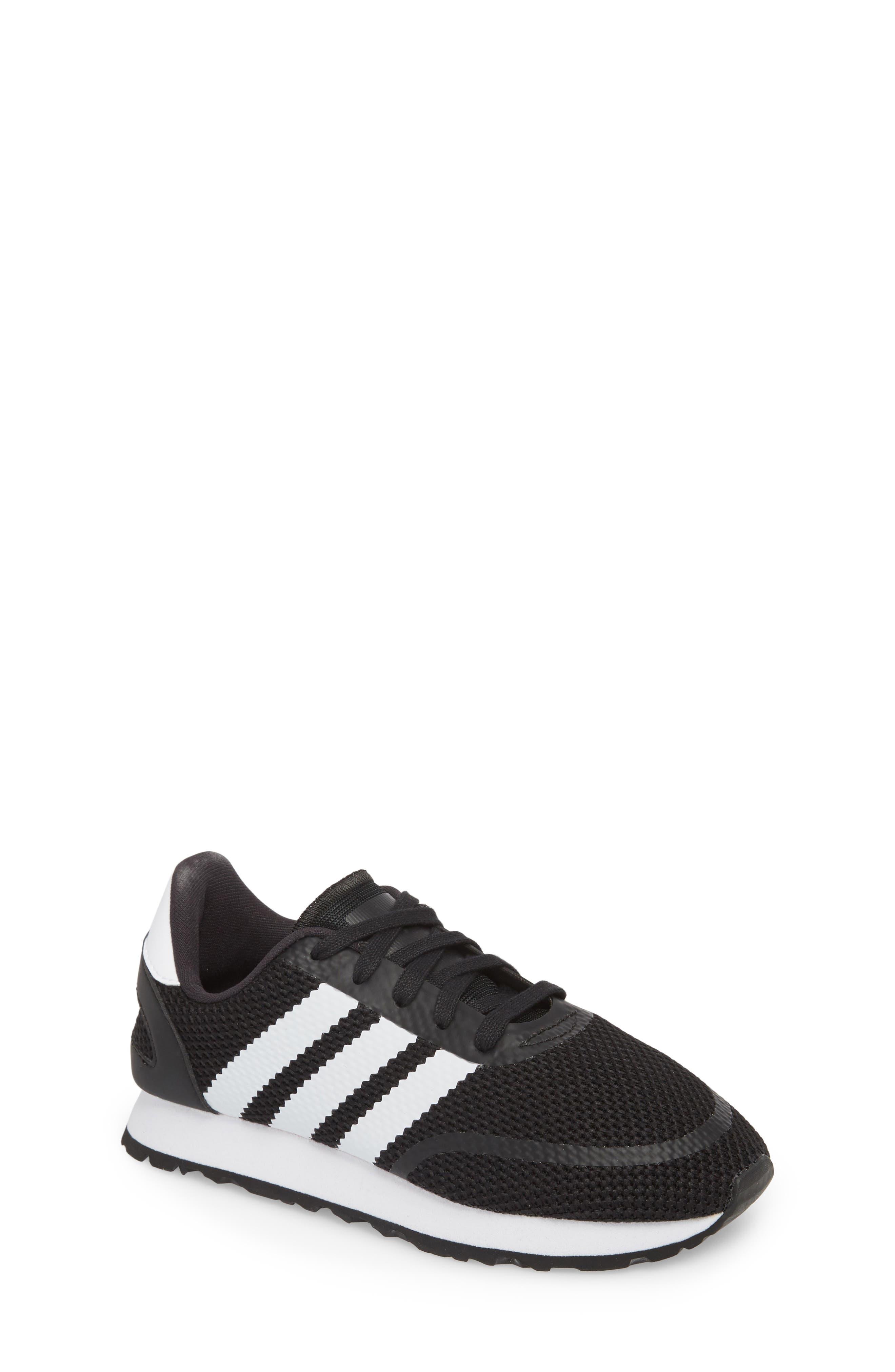 N-5923 Sneaker,                         Main,                         color, Black/ White/ Black