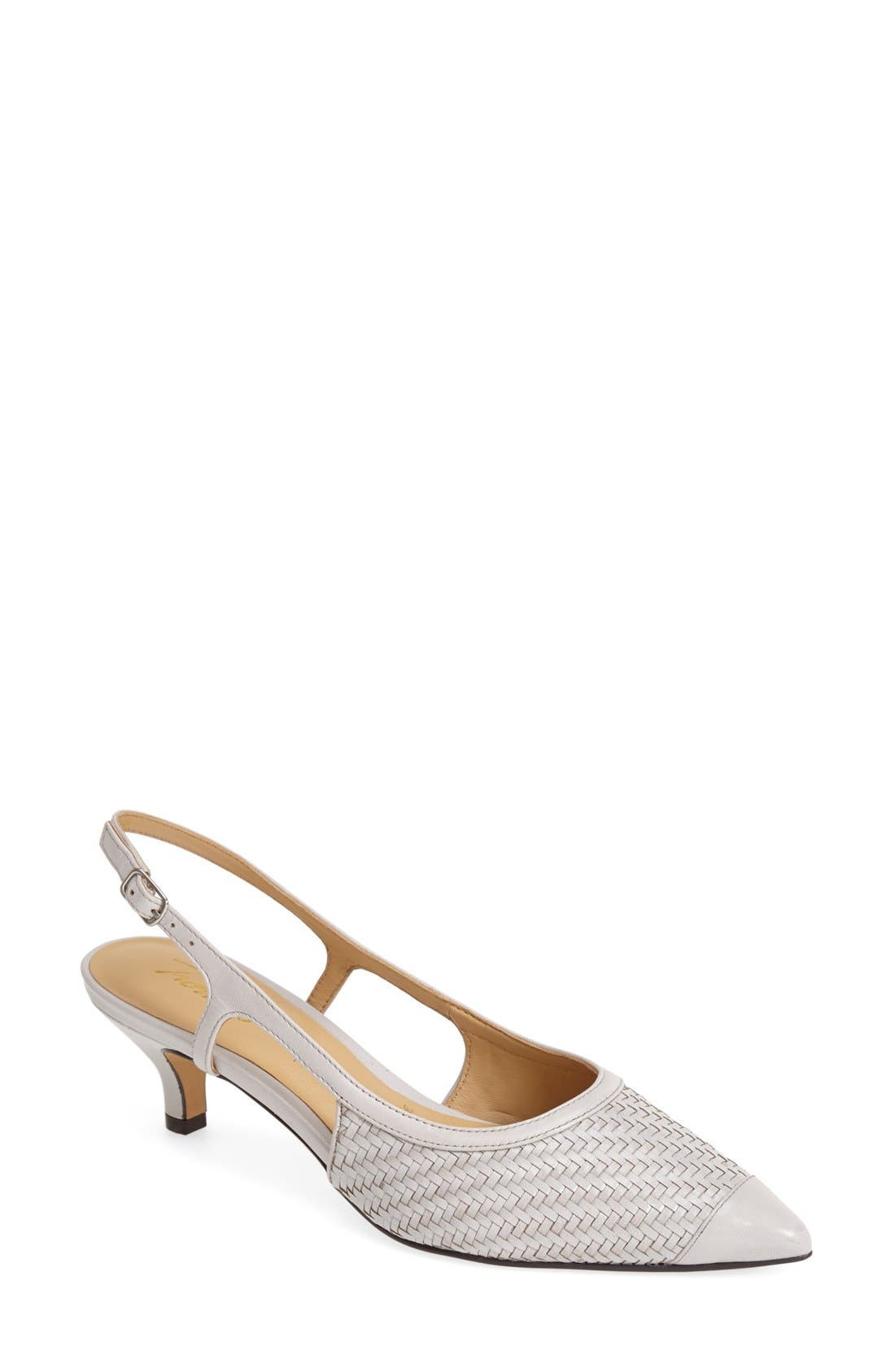 Womens Trotters Kimberly Pumps Light Grey