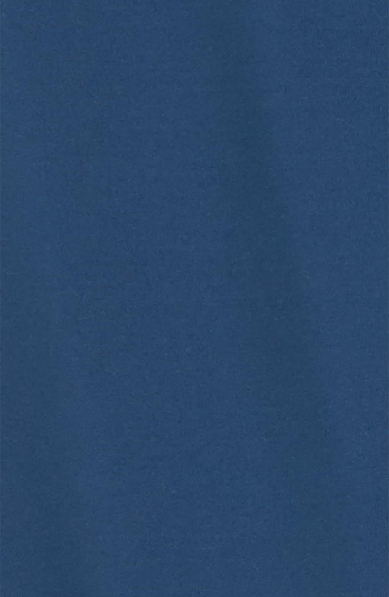 Laser Cut Crop Leggings,                             Alternate thumbnail 2, color,                             Blue Insignia