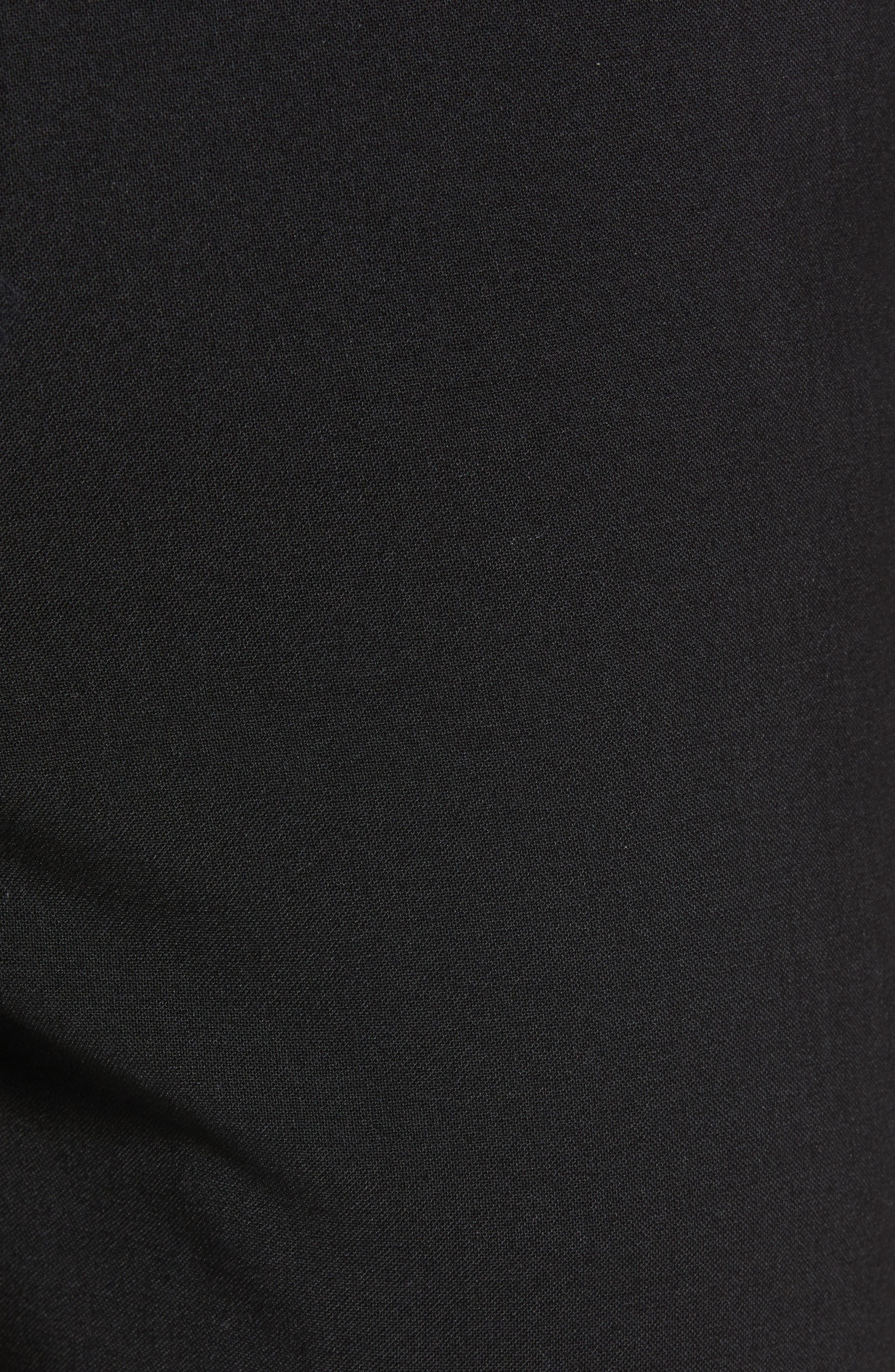 Kaito Slim Fit Trousers,                             Alternate thumbnail 3, color,                             Black