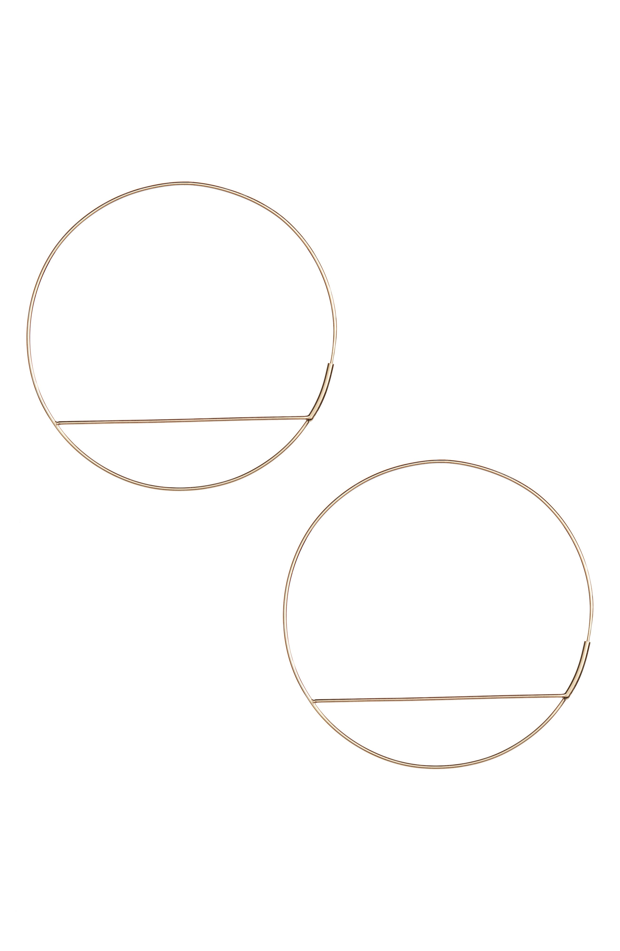 WIRE ECLIPSE HOOPS