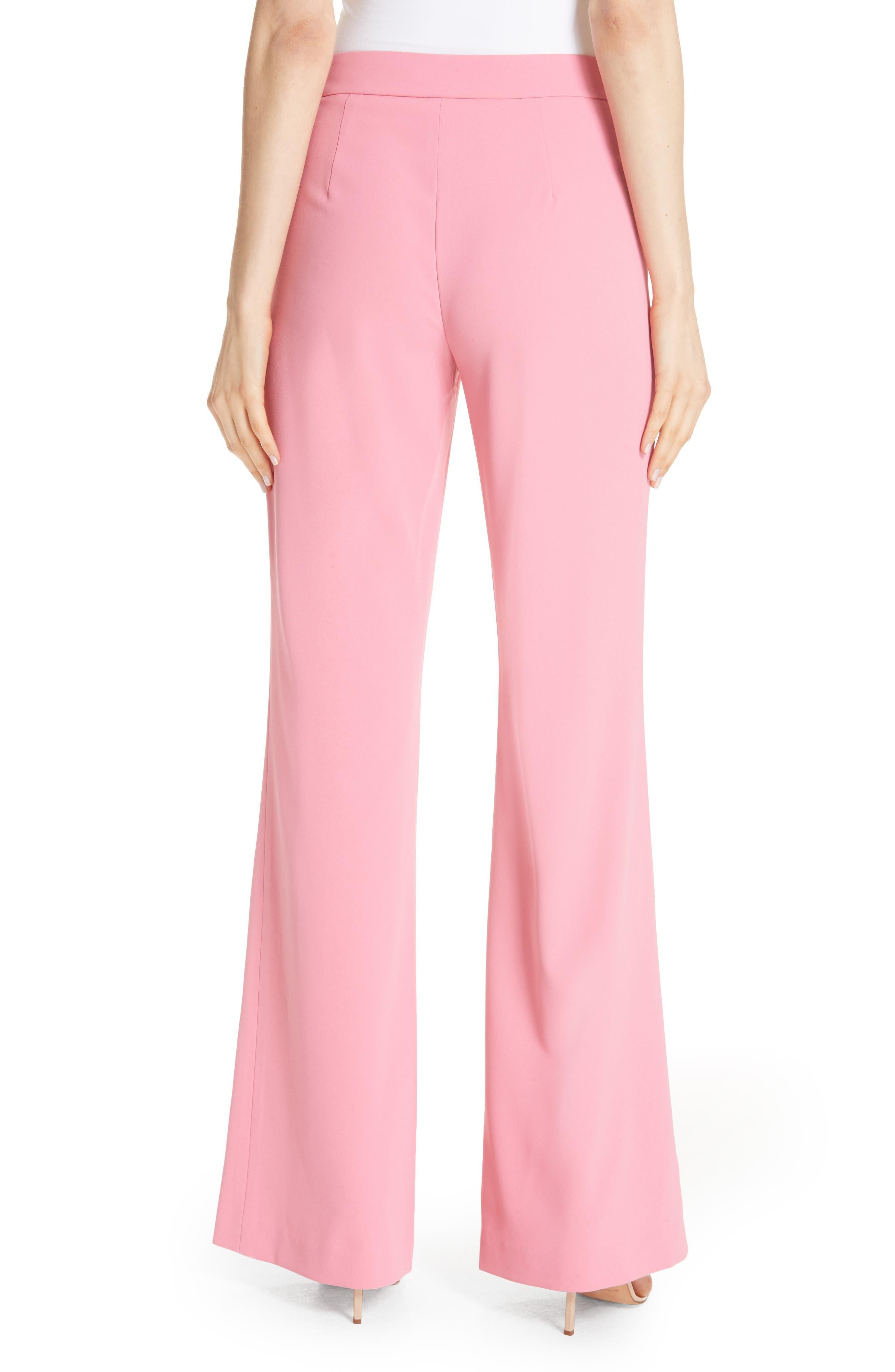 Jalisa High Waist Flare Pants,                             Alternate thumbnail 2, color,                             Bubblegum