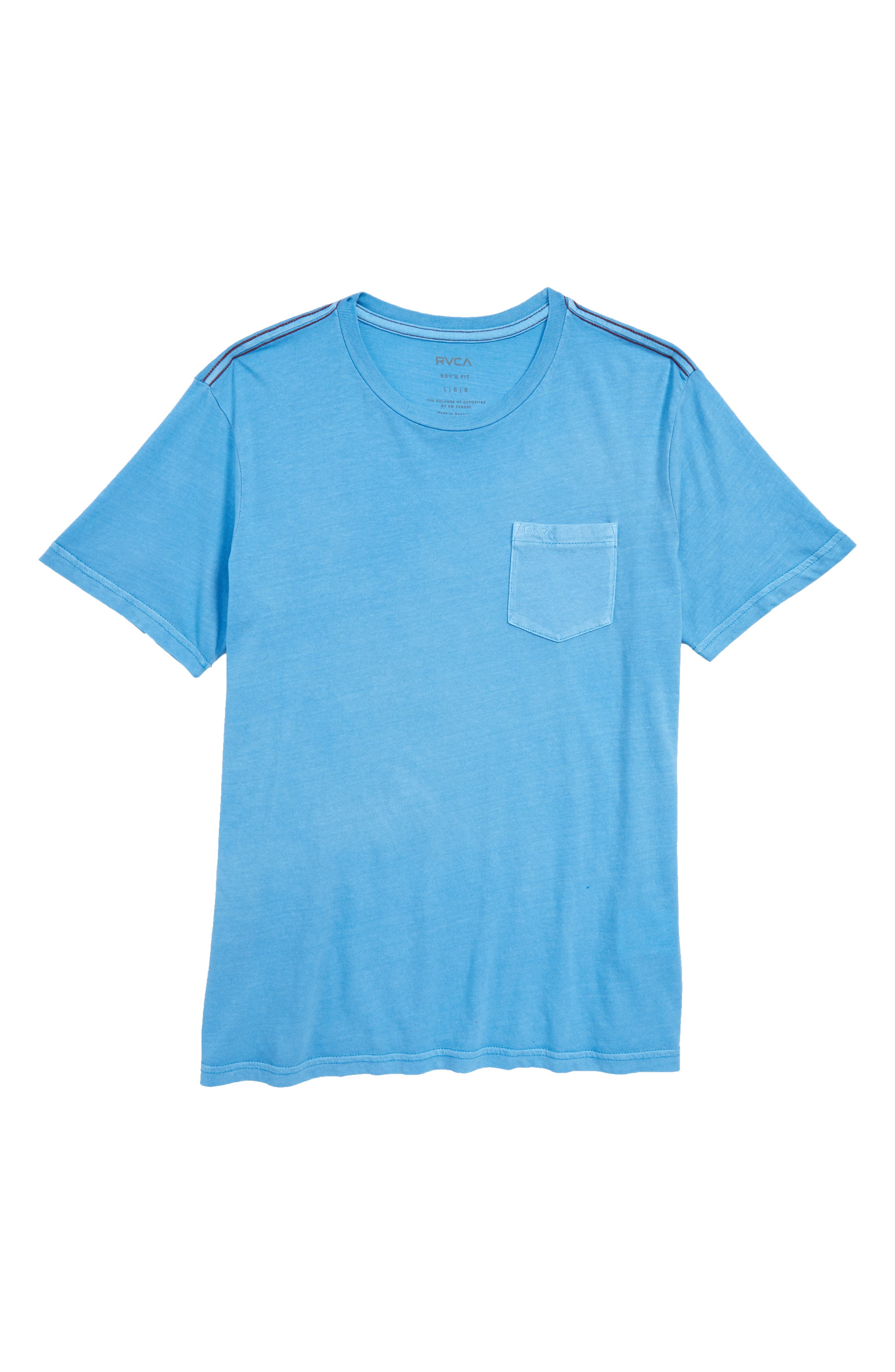 Pigment T-Shirt,                         Main,                         color, Lagoon