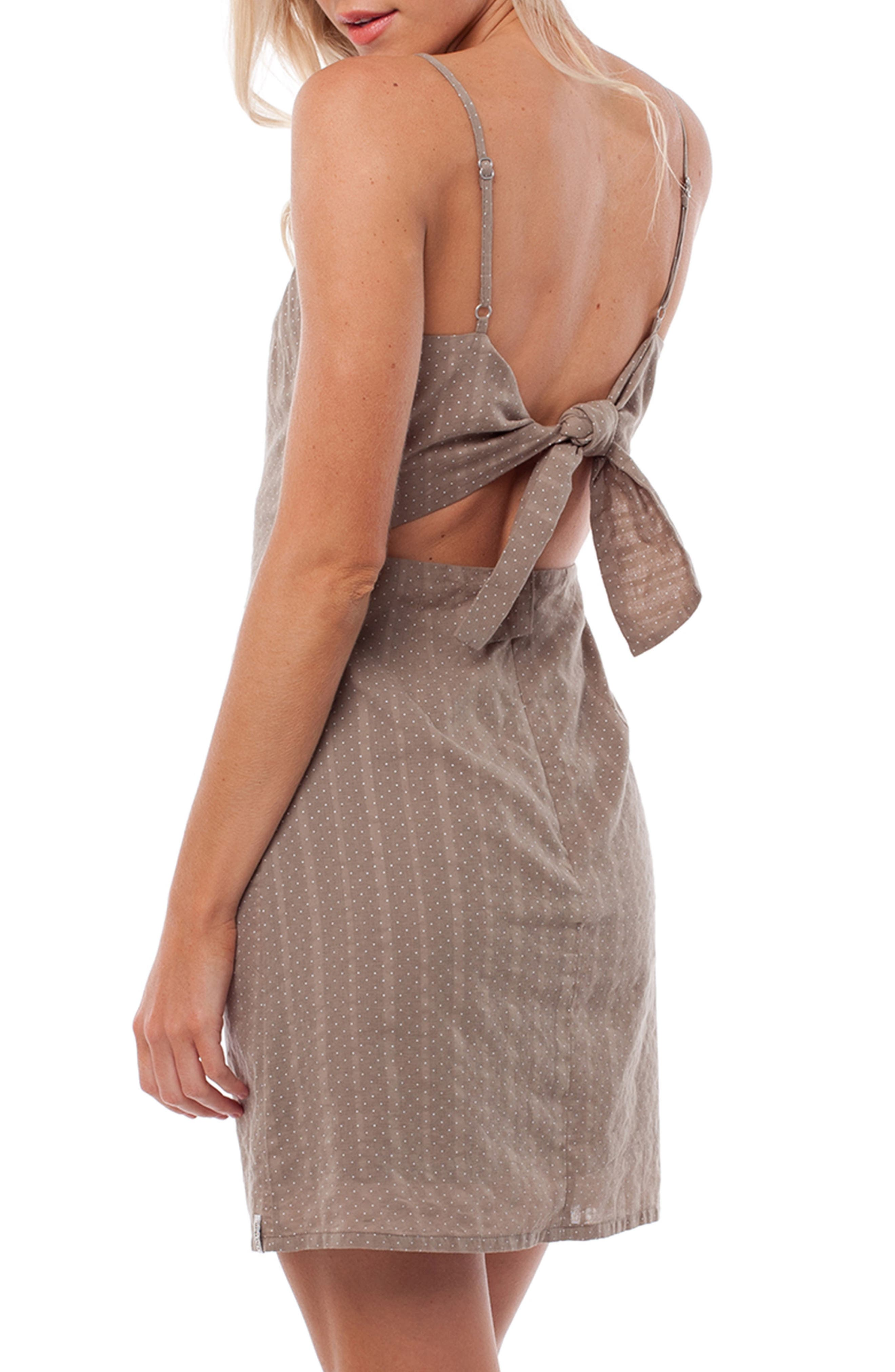Messina Cover-Up Dress,                             Alternate thumbnail 3, color,                             Chai