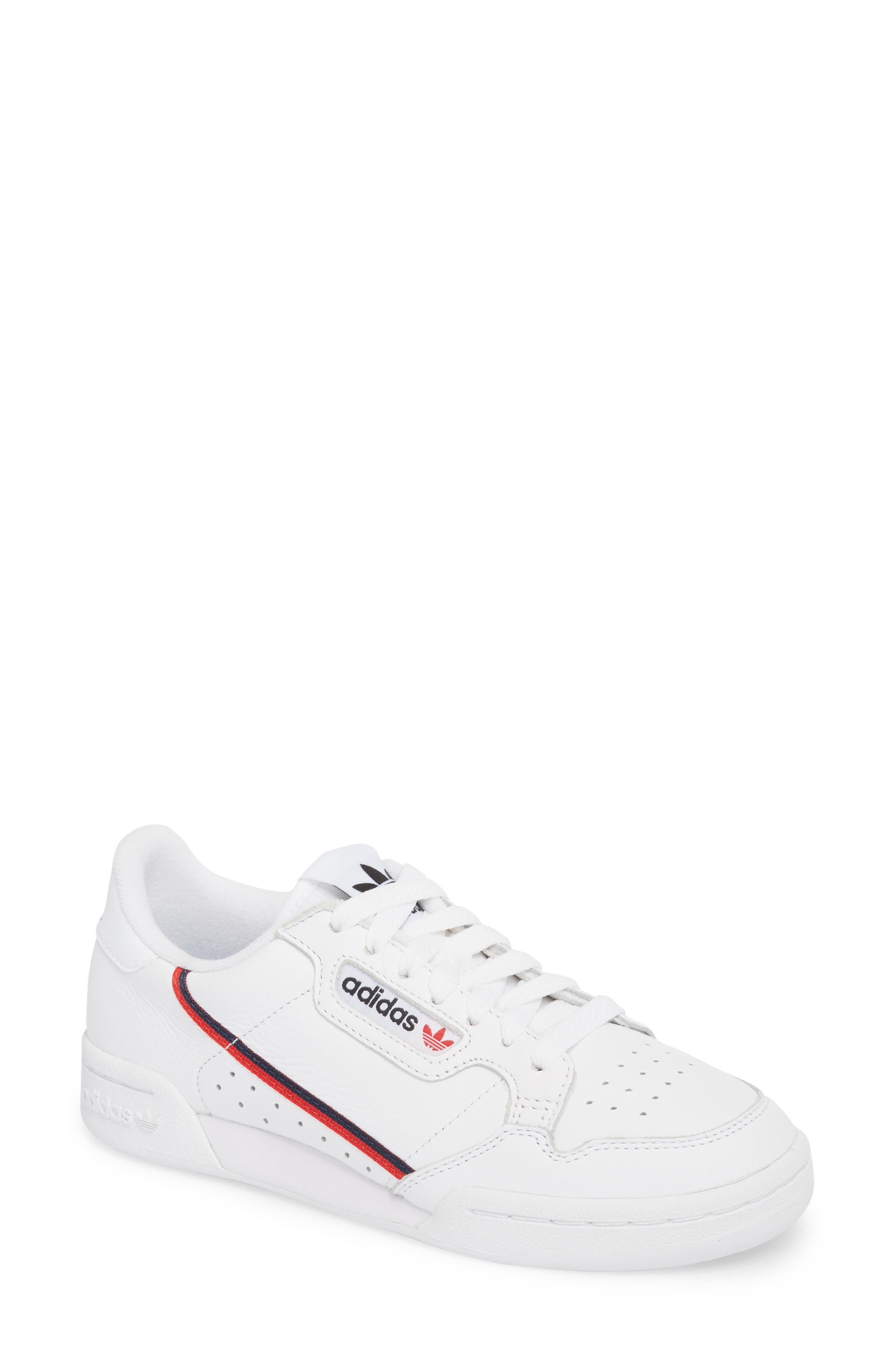 white adidas shoes women