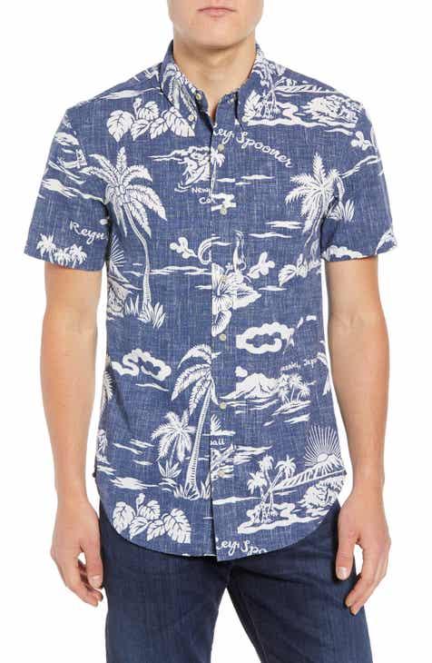 Reyn Spooner My Private Isle Regular Fit Sport Shirt