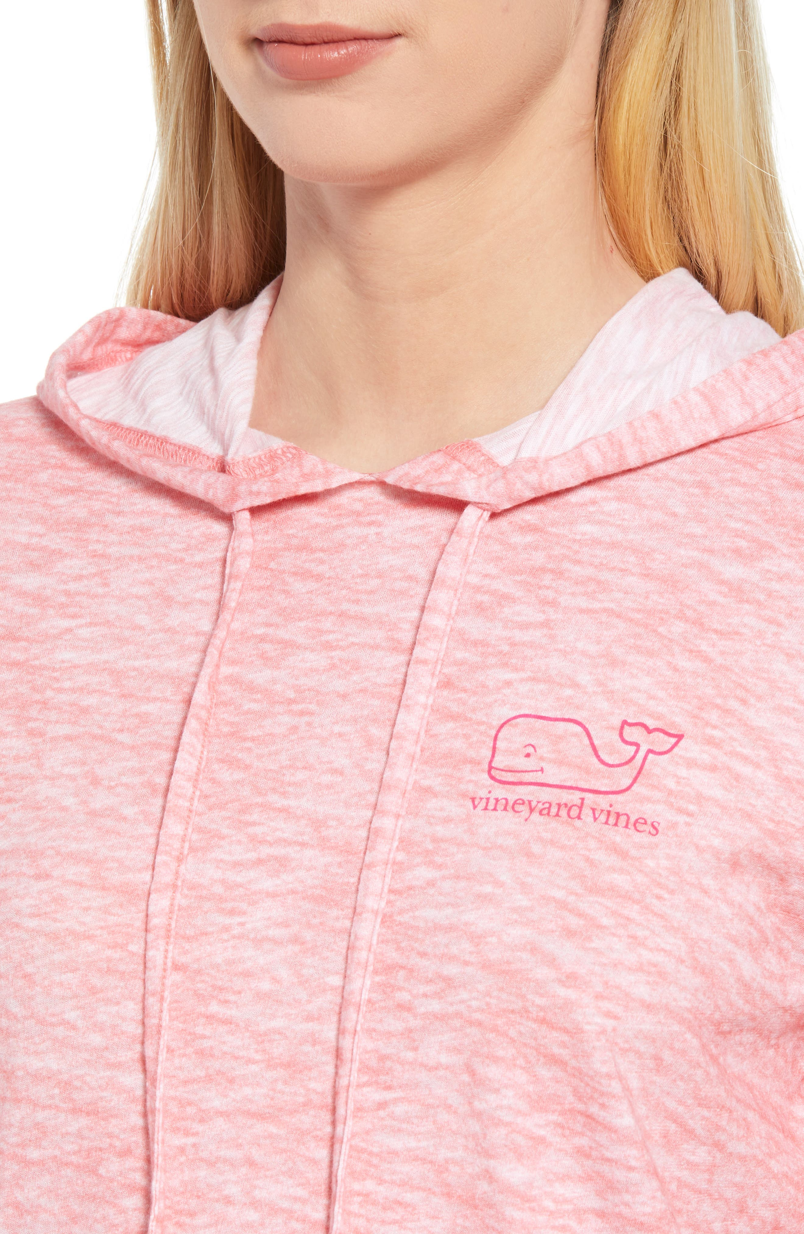 Whale Hoodie,                             Alternate thumbnail 4, color,                             Sailors Red