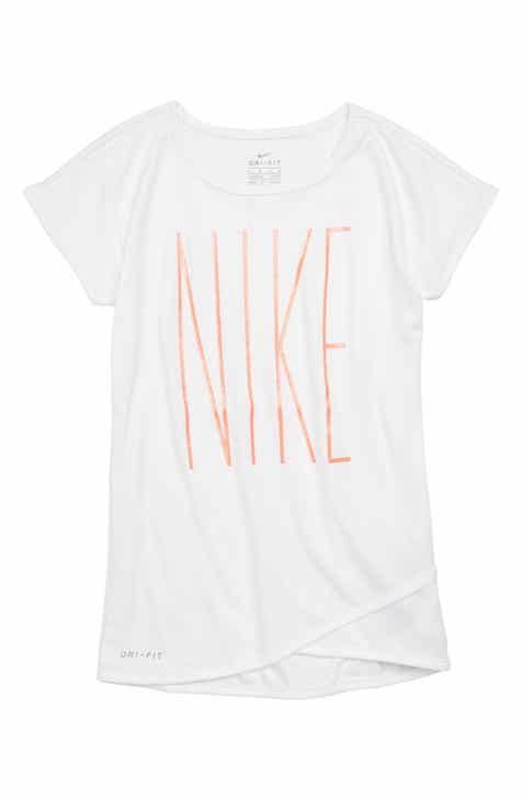 Nike Dry Crossover Tunic (Toddler Girls   Little Girls) 13704078fbd