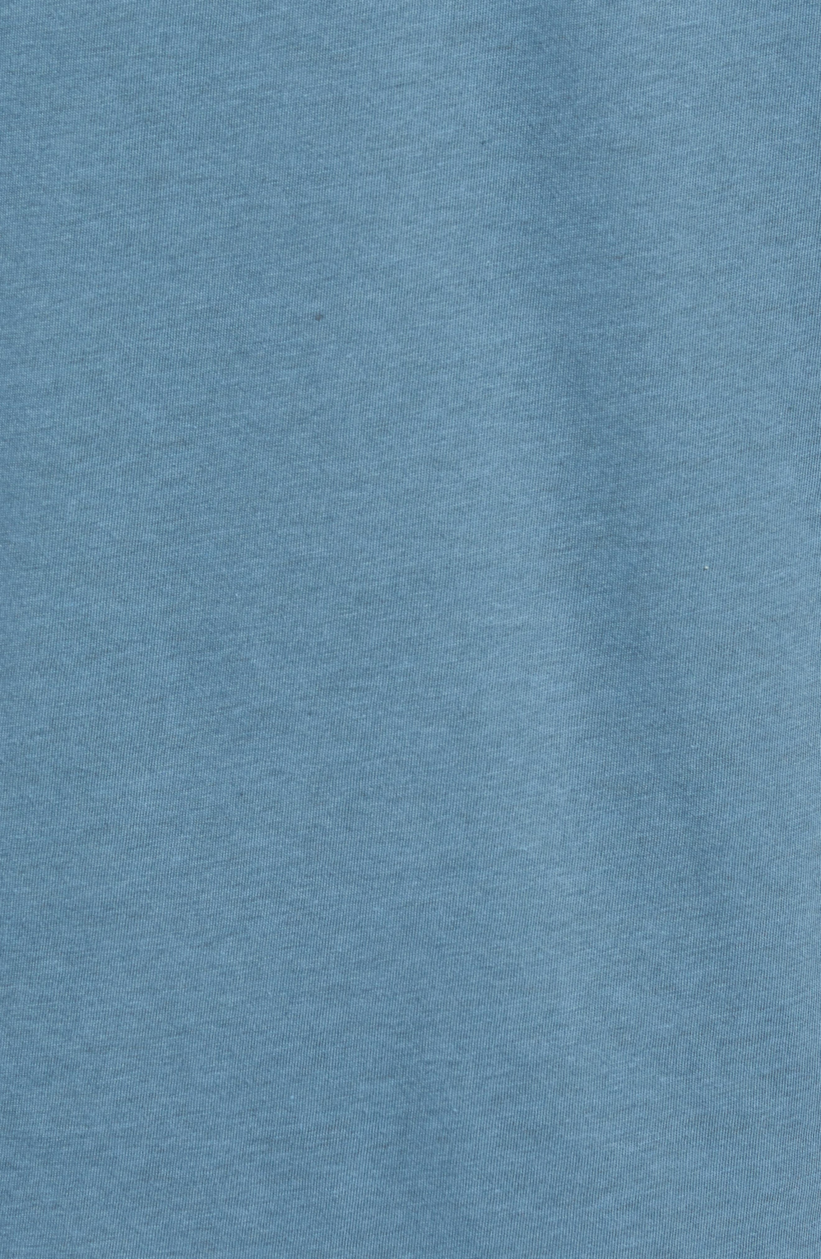 Bard Pocket Cotton Blend T-Shirt,                             Alternate thumbnail 3, color,                             Indigo