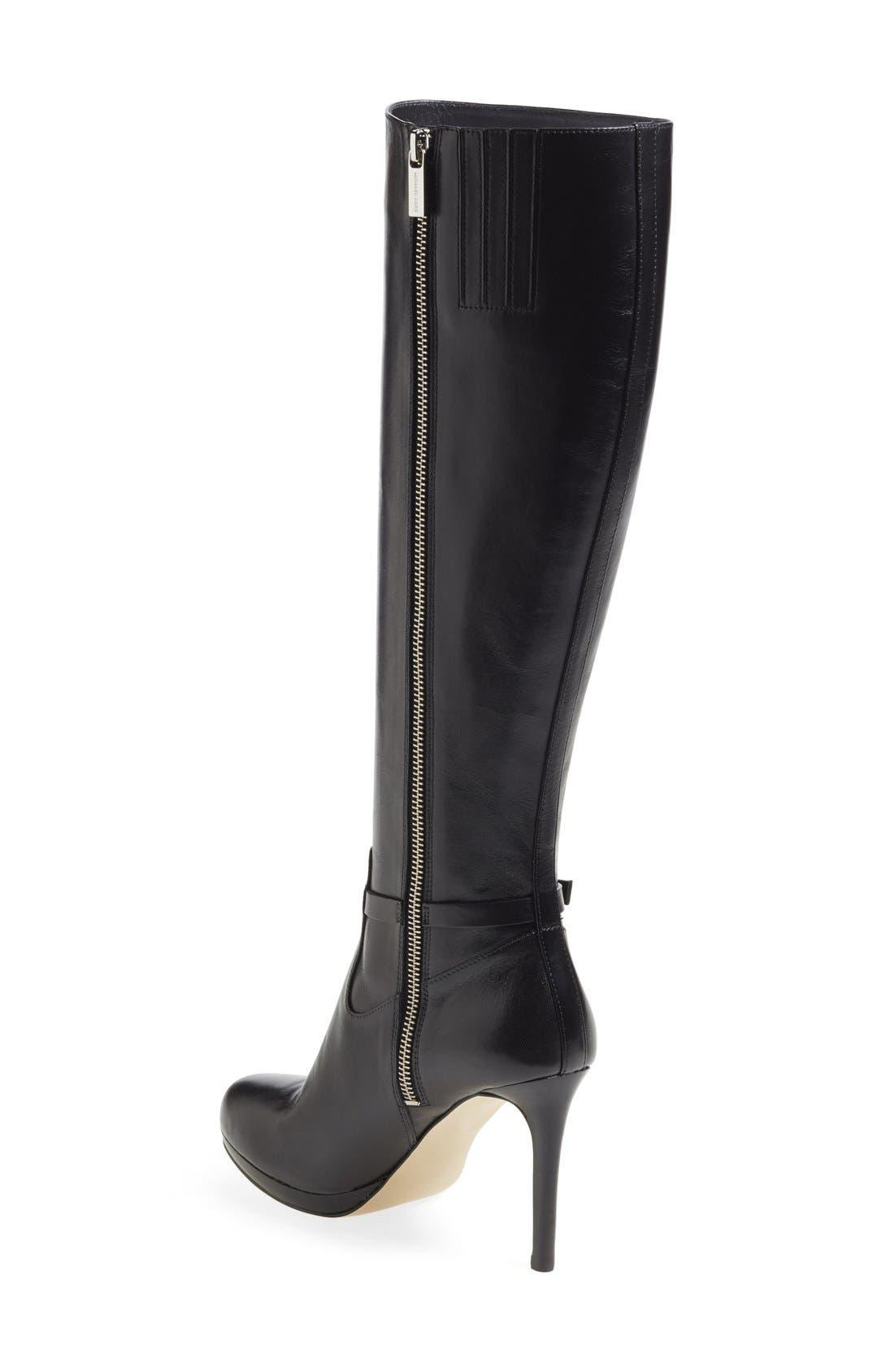 Alternate Image 2  - MICHAEL Michael Kors 'Woods' Knee High Platform Boot (Women) (Nordstrom Exclusive)