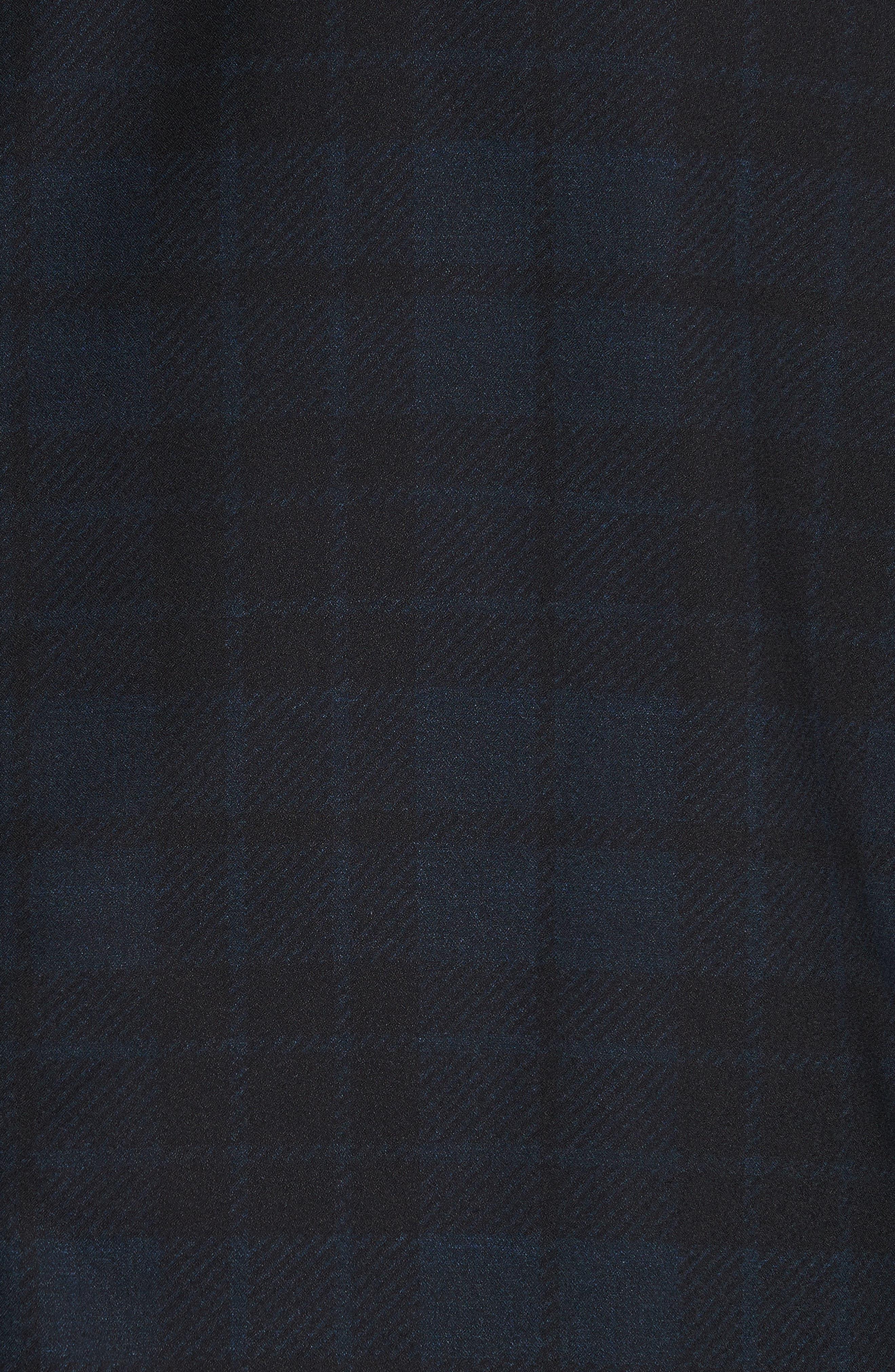 Regular Fit Reversible Raincoat,                             Alternate thumbnail 3, color,                             Blue