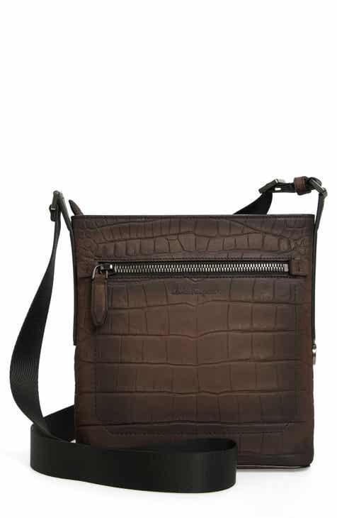 Salvatore Ferragamo Firenze Leather Crossbody Bag