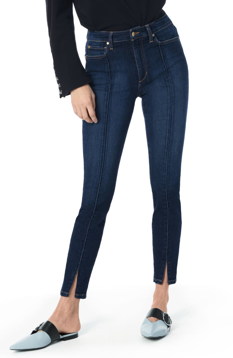 Flawless - Charlie Pintuck High Waist Ankle Skinny Jeans