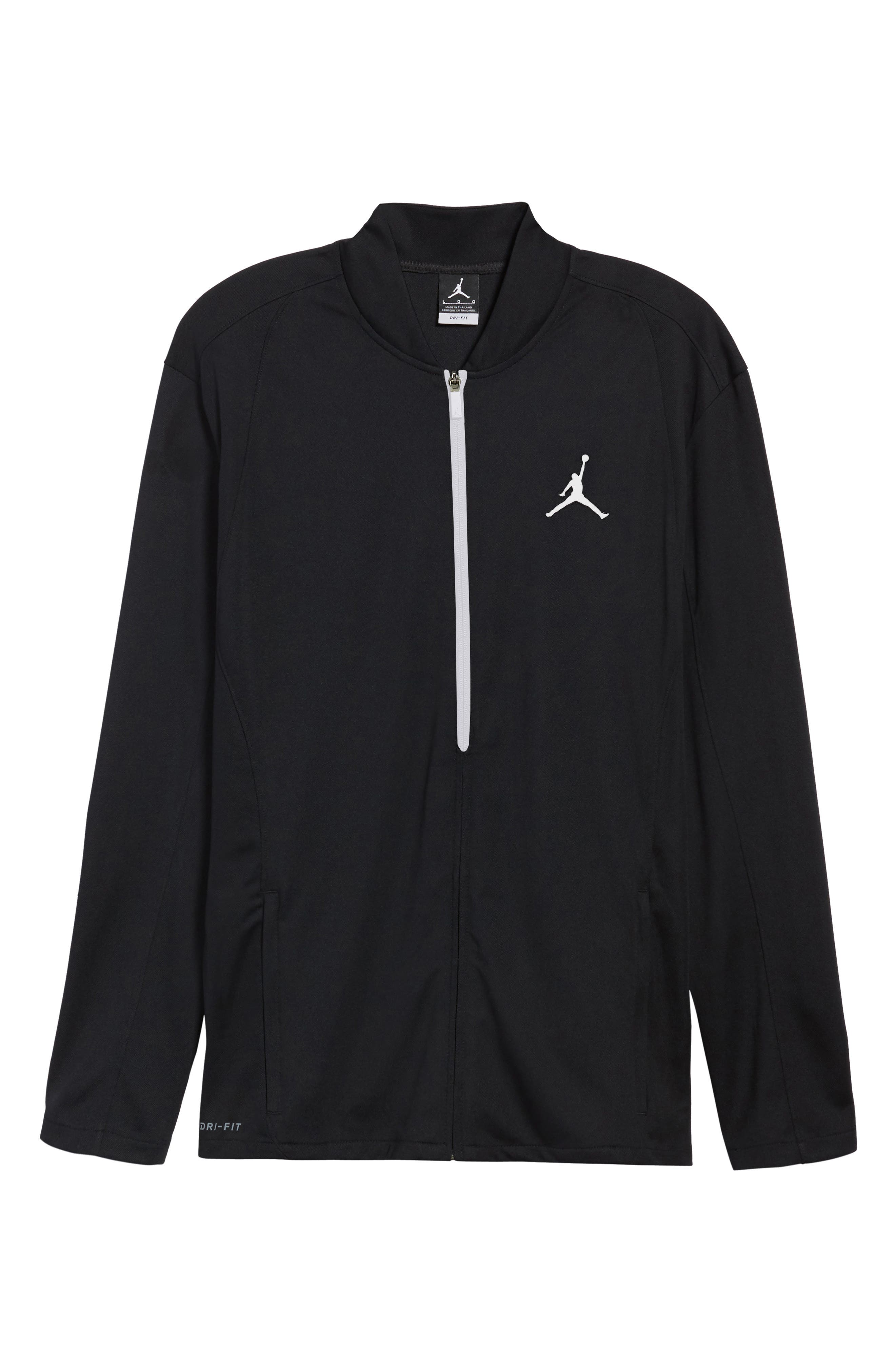 23 Alpha Dry Jacket,                             Alternate thumbnail 5, color,                             Black/ White
