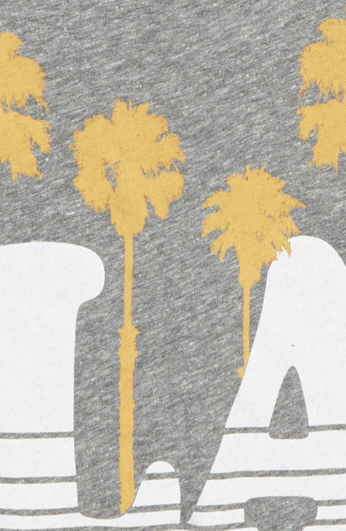 LA Vibes Graphic T-Shirt,                             Alternate thumbnail 2, color,                             Tri Grey