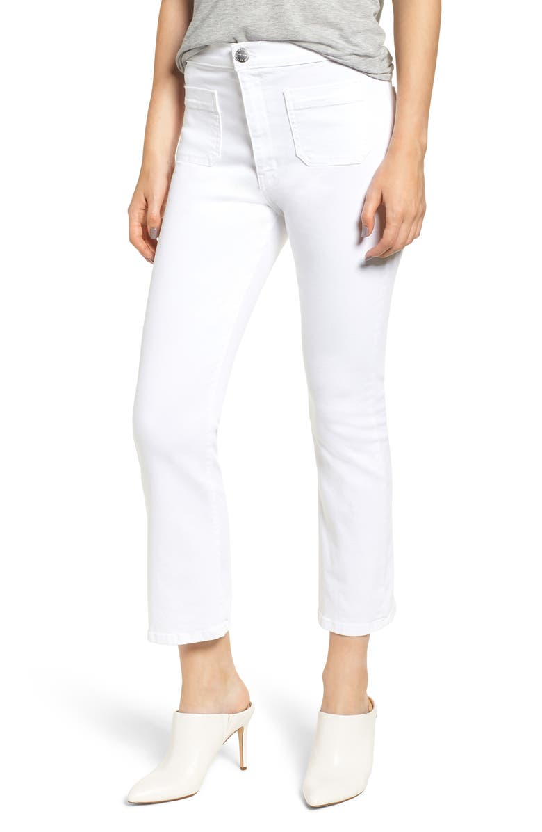 The Ultra High Waist Kick Flare Jeans