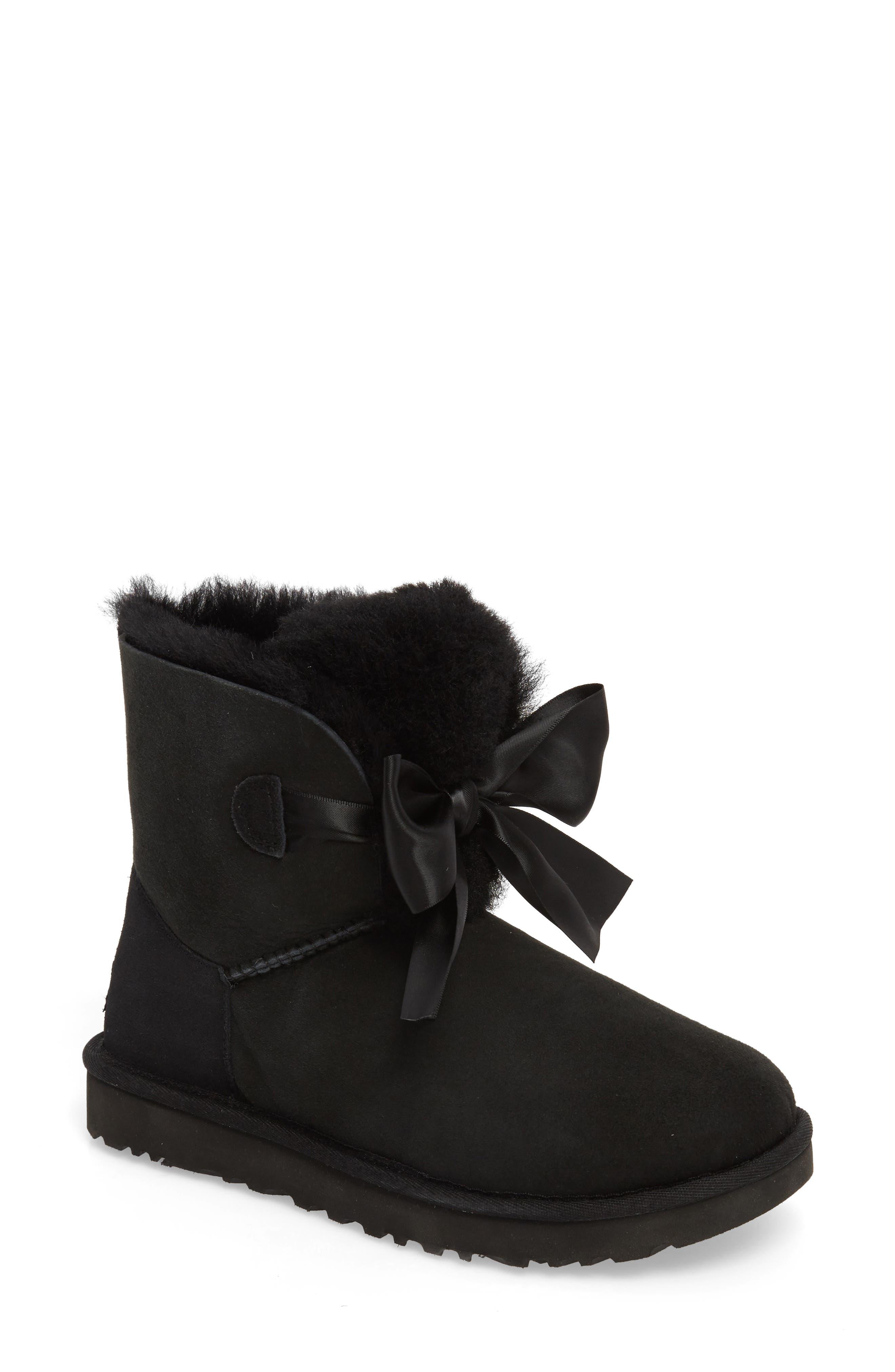 black ugg snow boots