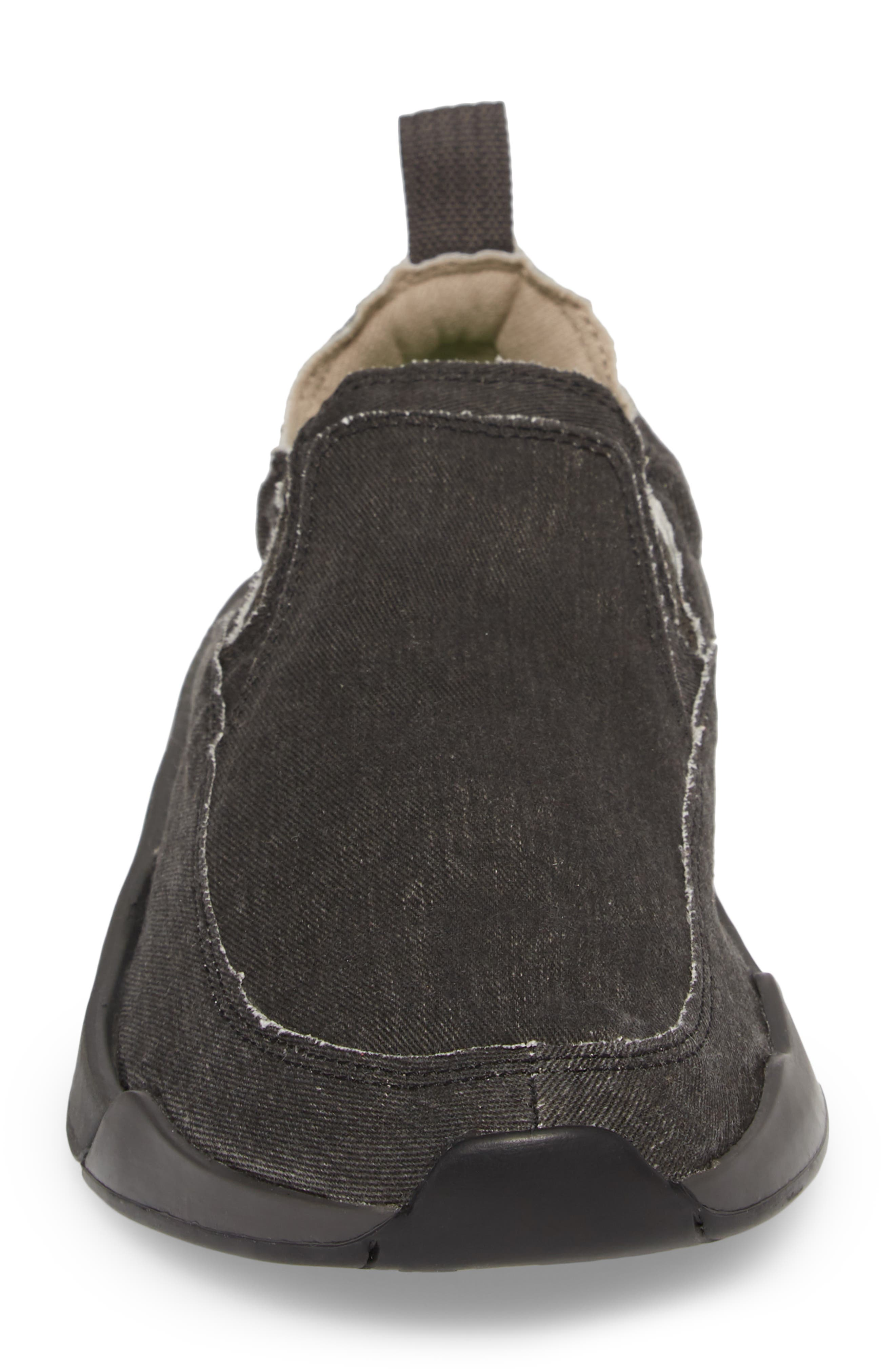 Chiba Quest Slip-On Sneaker,                             Alternate thumbnail 5, color,                             Black/ Black