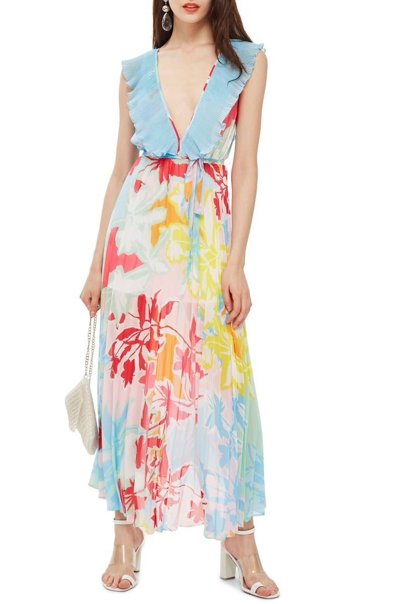 Paradise Plunge Maxi Dress