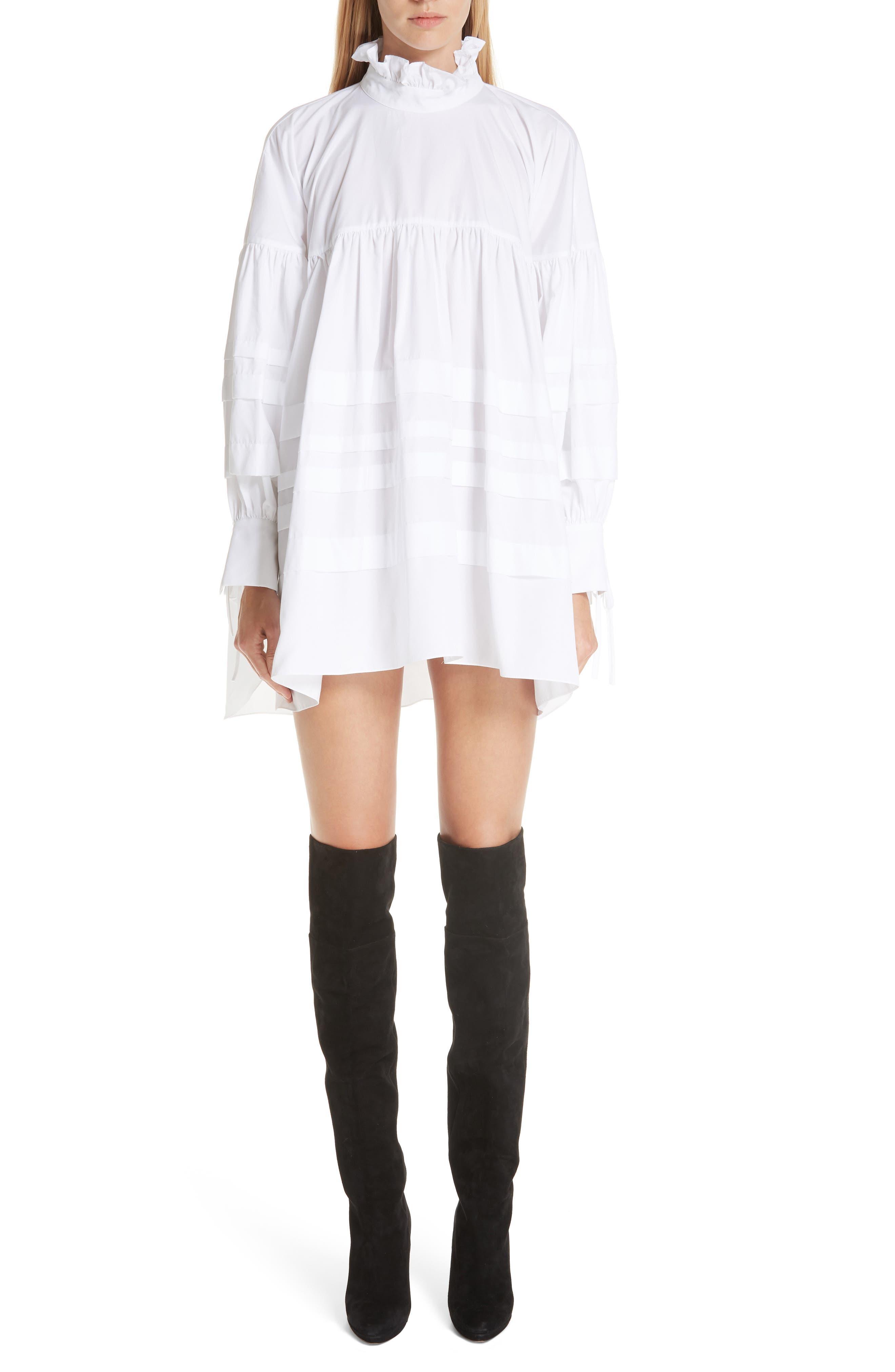 CECILIE BAHNSEN Alberte Dress in White