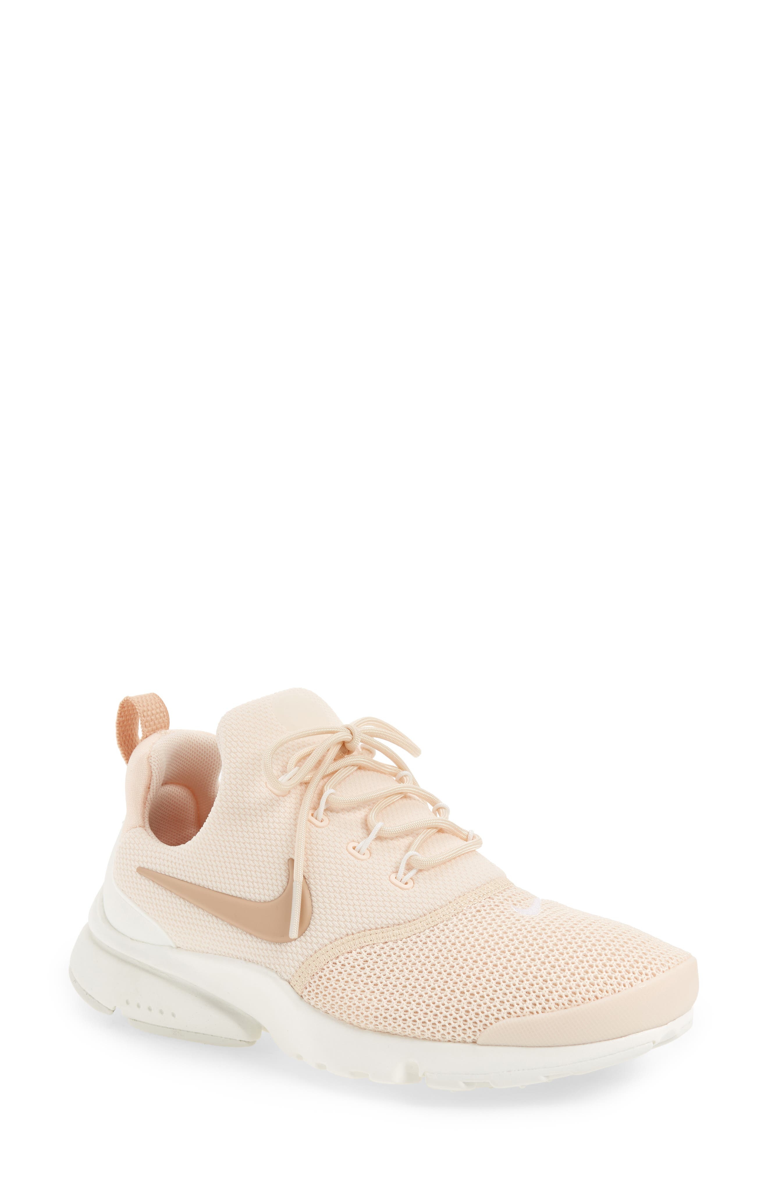 Presto Fly Sneaker,                             Main thumbnail 1, color,                             Guava Ice/ Beige/ Summit White