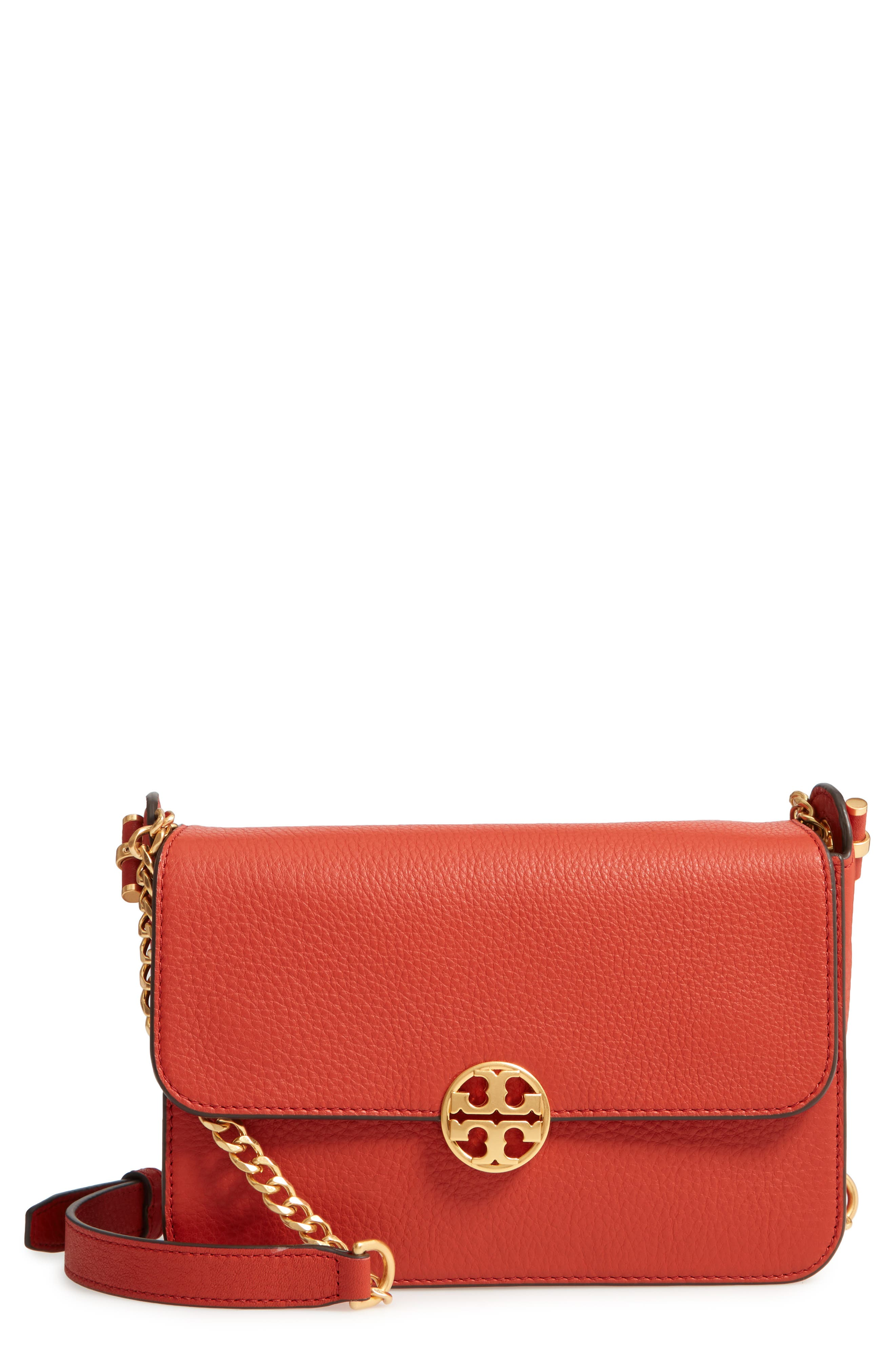 Chelsea Leather Crossbody Bag,                             Main thumbnail 1, color,                             Kola
