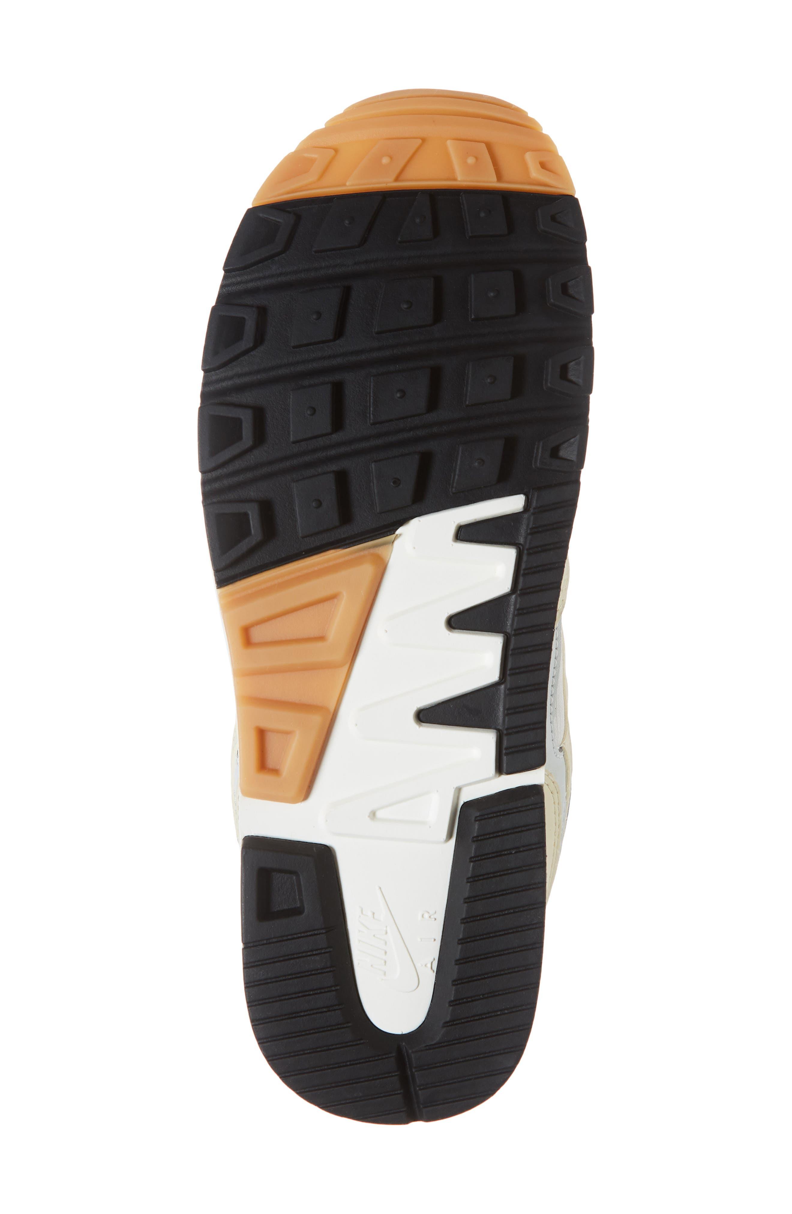 Air Span II Sneaker,                             Alternate thumbnail 6, color,                             Sail/ Fossil-Barely Grey-Black