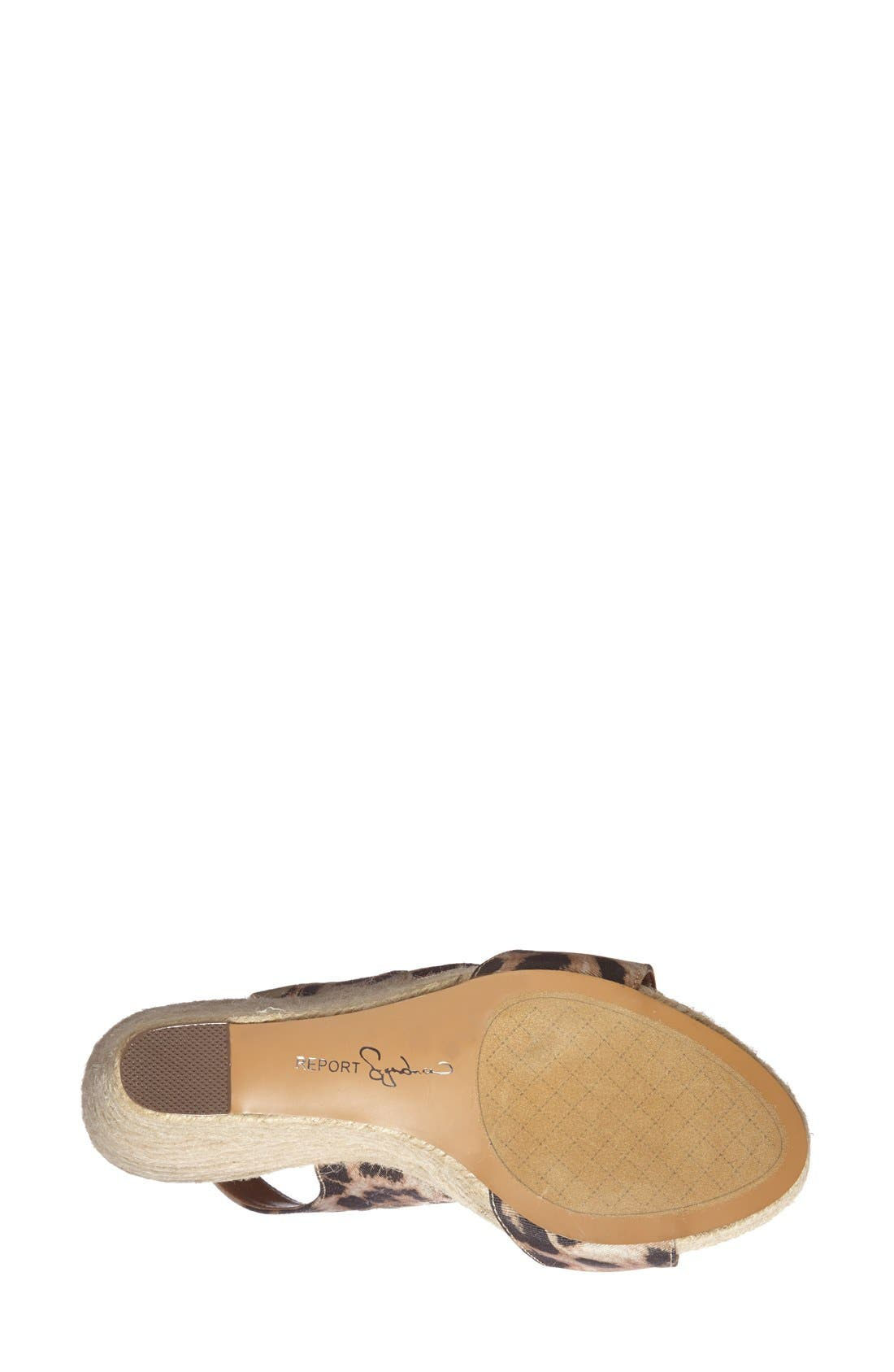 Alternate Image 4  - REPORT Signature 'Cass' Wedge Sandal (Women)