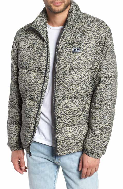 Obey Bouncer Check Puffer Jacket