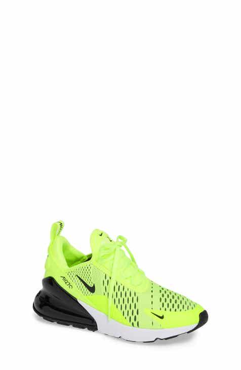 dbdae94c889cf ... Shoes Metallic Silver Poison Green Lyon Blue White Kids sale  Nike Air  Max 270 Sneaker (Toddler