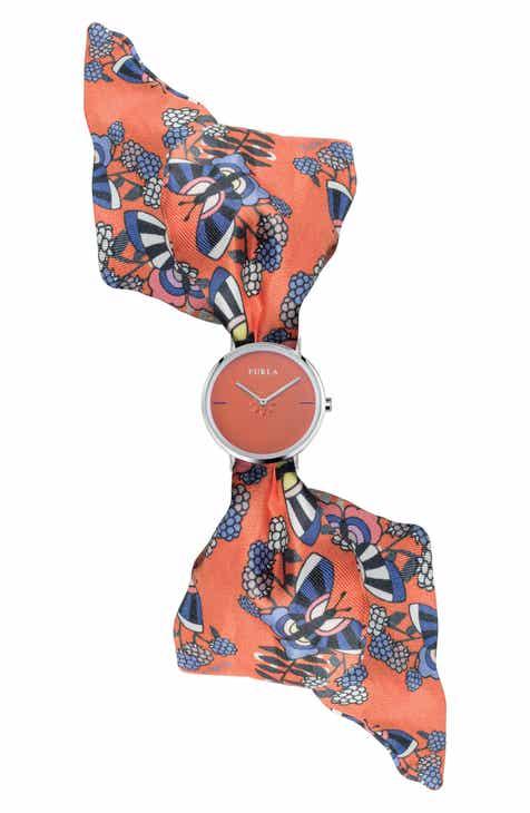 f9c9b29ff Furla Giada Bandeau Silk Wrap Watch
