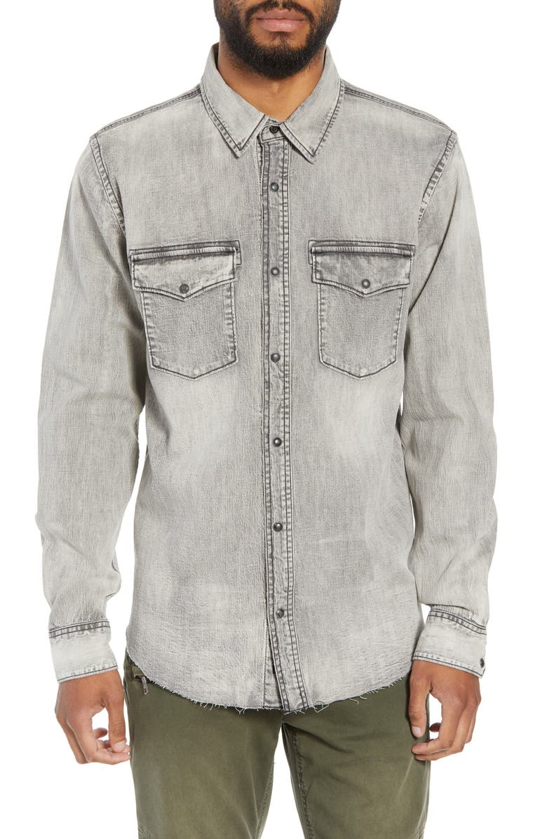 Hudson Regular Fit Denim Shirt