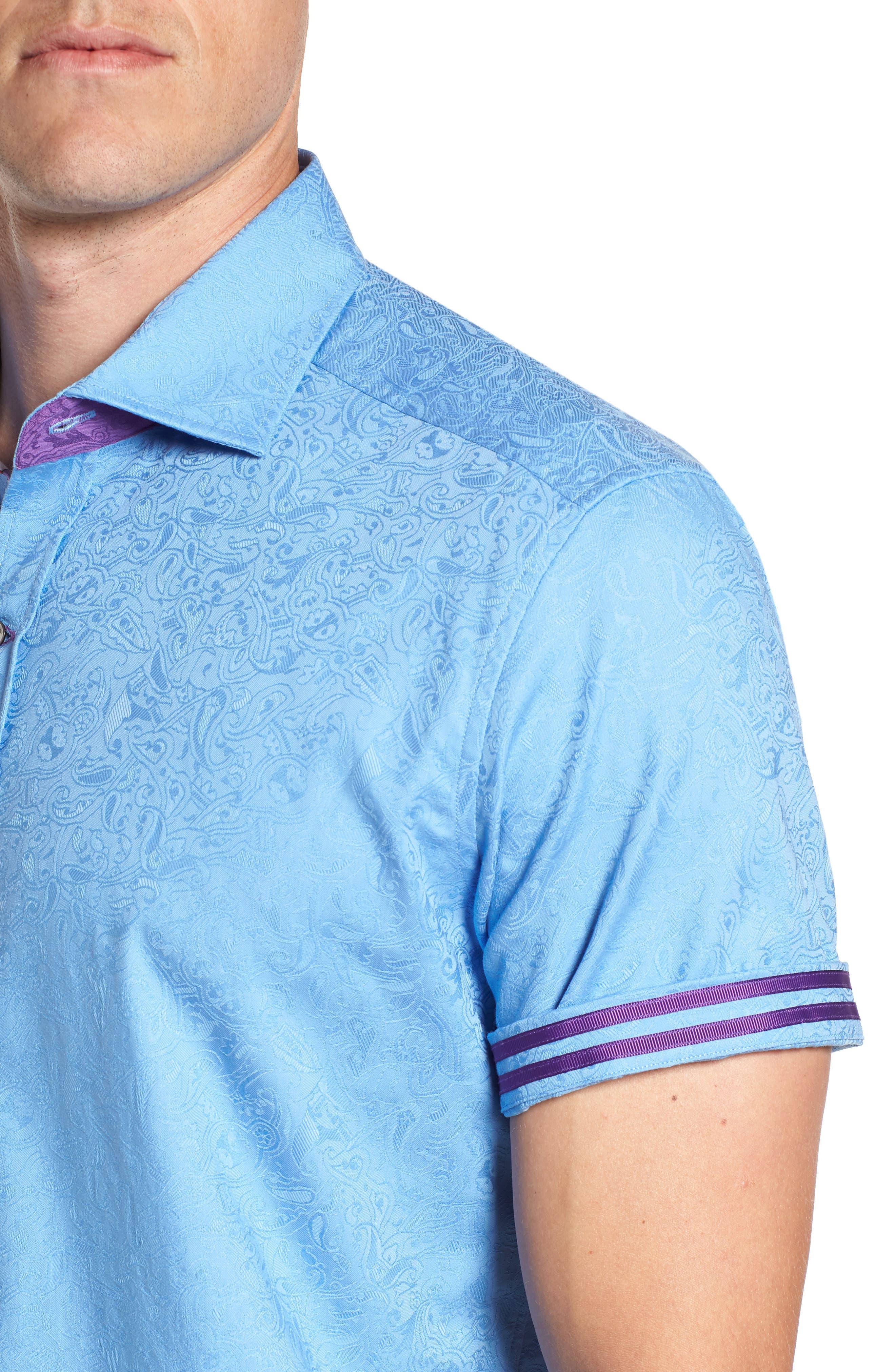 Abbott Sport Shirt,                             Alternate thumbnail 2, color,                             Blue