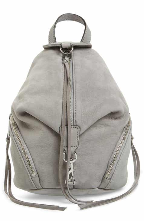 67295fee5a42 Rebecca Minkoff Mini Julian Nubuck Leather Convertible Backpack