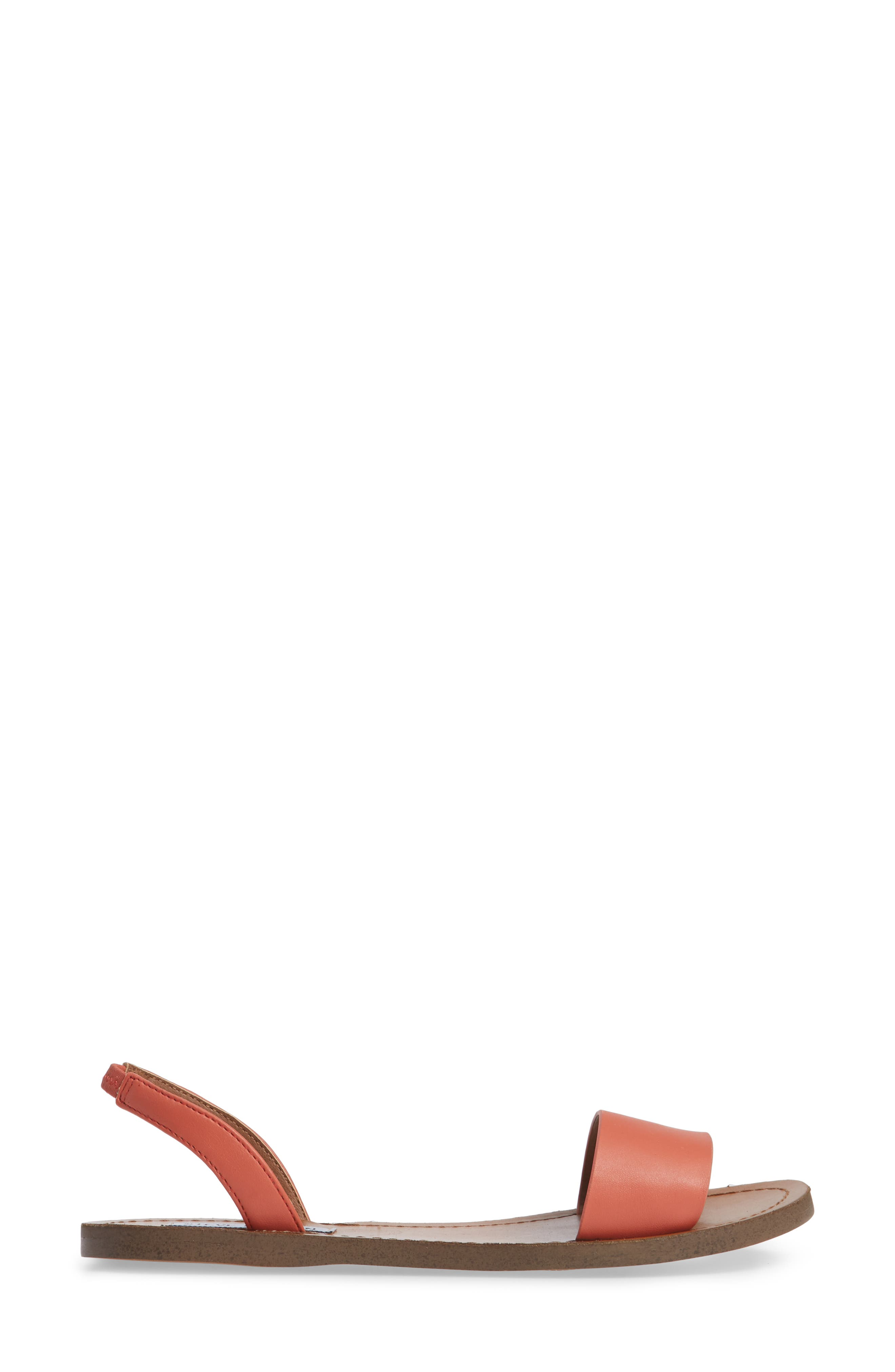 Alina Sandal,                             Alternate thumbnail 4, color,                             Coral