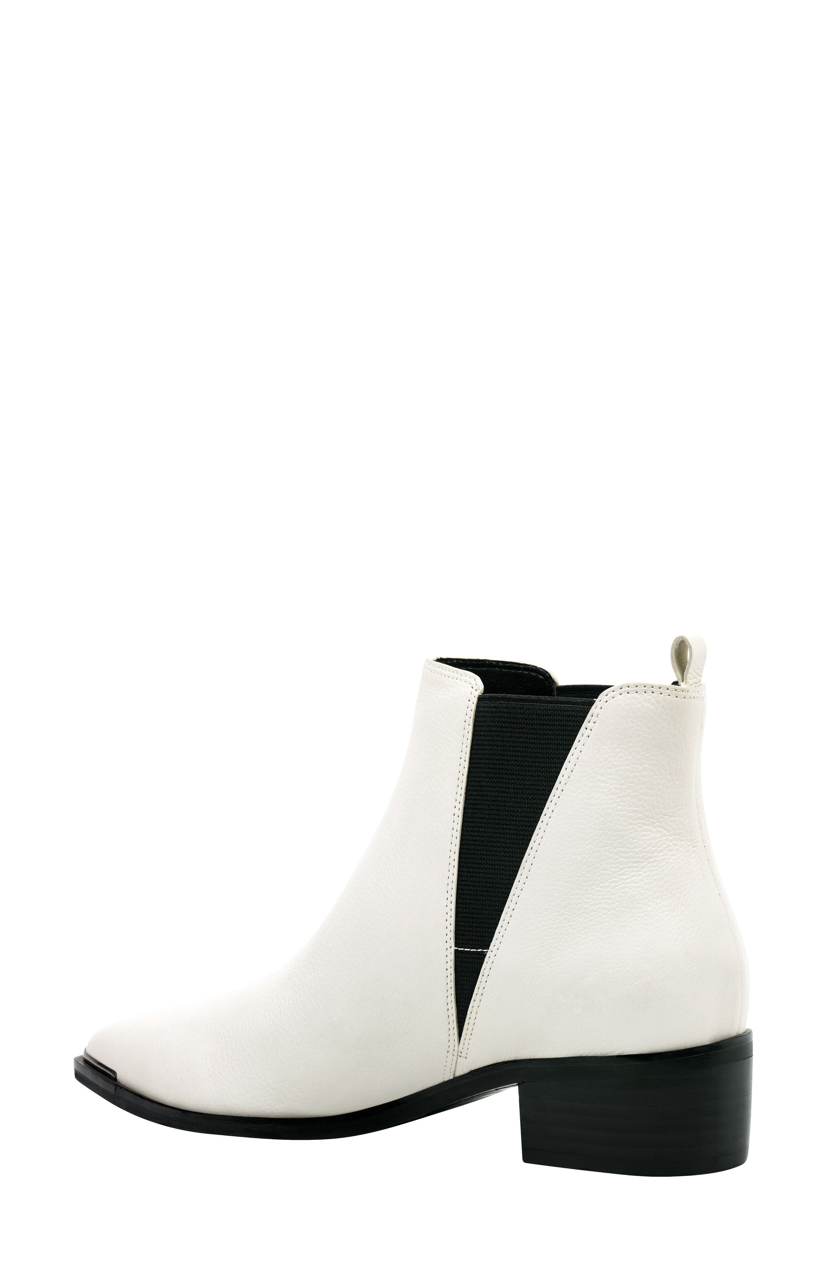 'Yale' Chelsea Boot,                             Alternate thumbnail 2, color,                             Ivory Leather